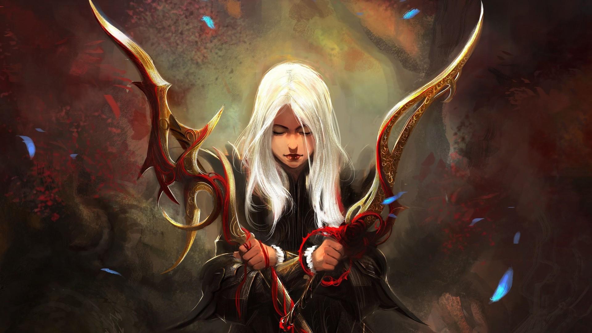 artwork, Fantasy Art, Women, Warrior, Concept Art Wallpapers HD / Desktop  and Mobile Backgrounds