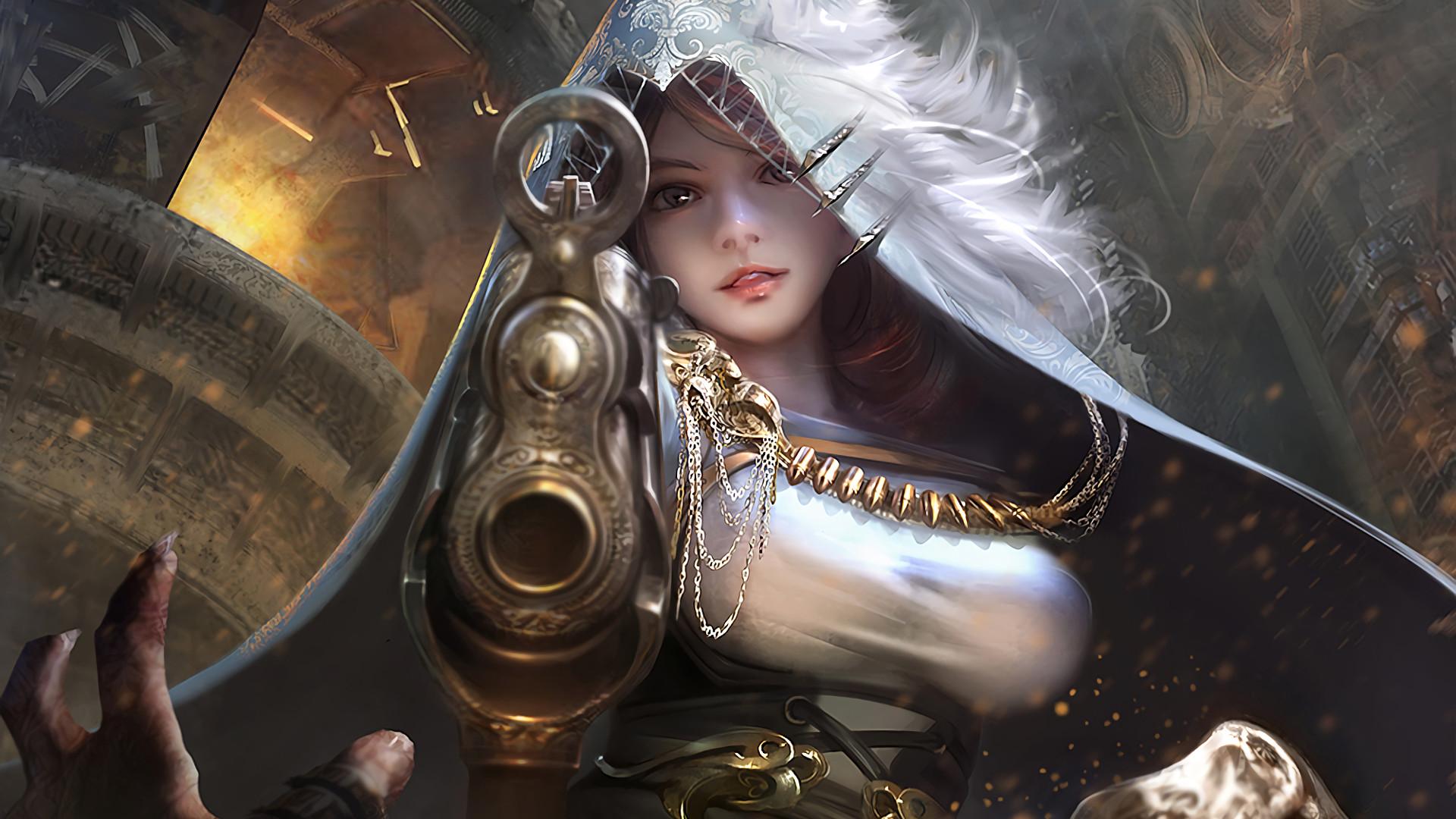Fantasy – Women Warrior Wallpaper