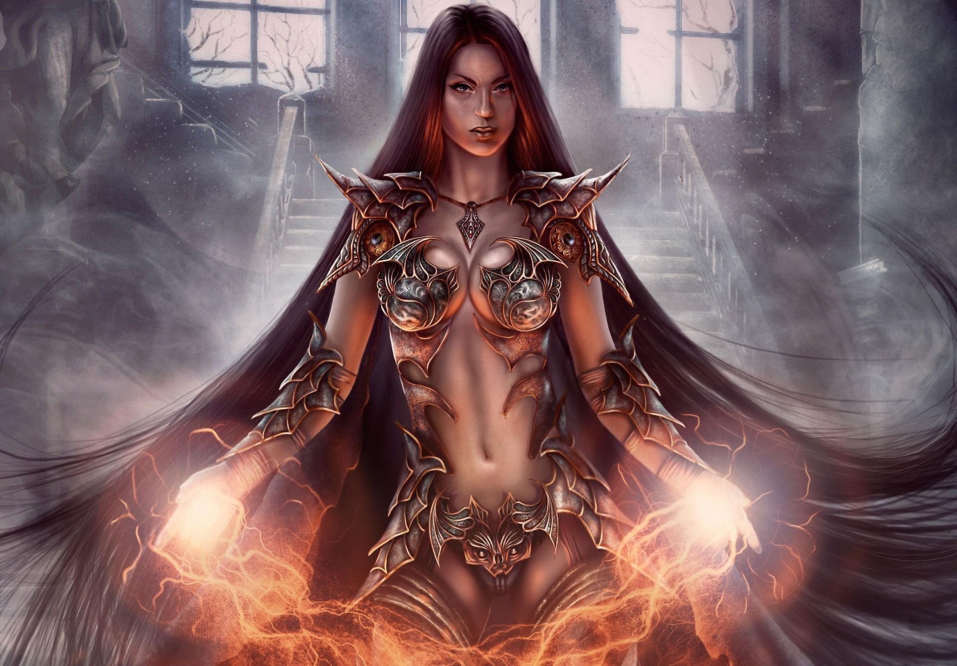 Magic Warriors Armor Fantasy Girls warrior wallpaper | | 103461 |  WallpaperUP