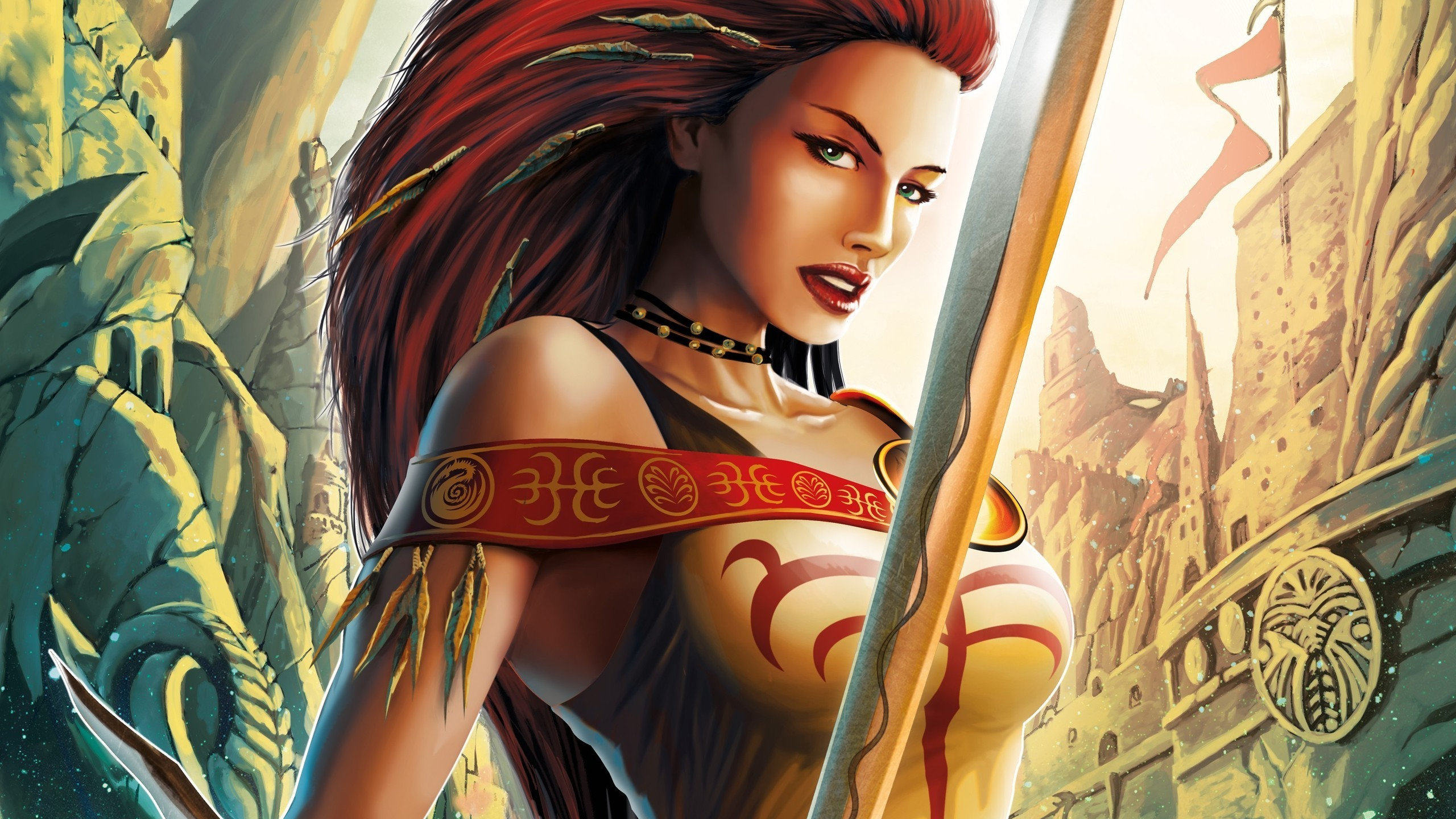 Fantasy Artwork Female Warriors …