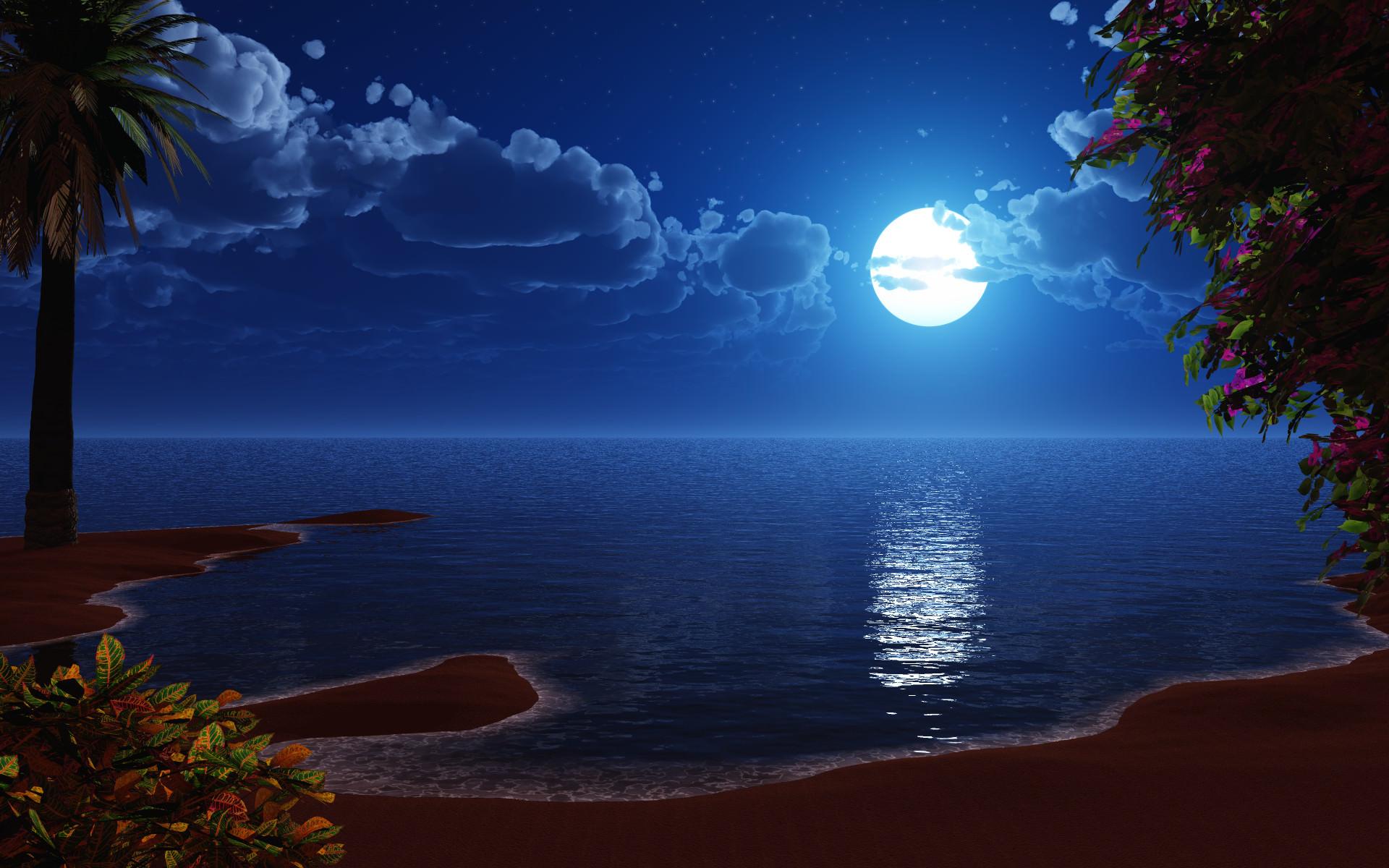 HD Moonlight Wallpapers and Photos HD Fantasy Wallpapers