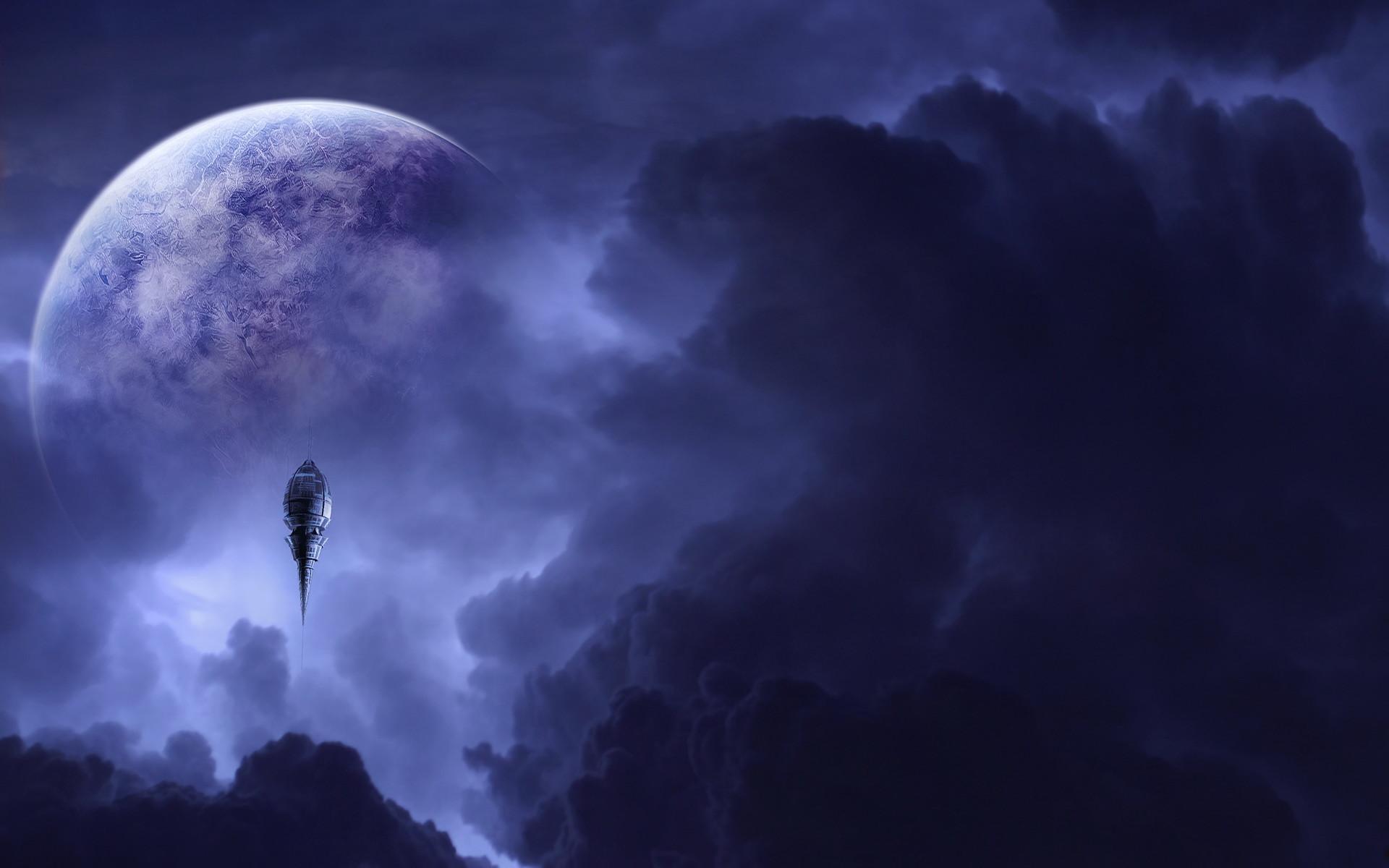 desktop fantasy pictures of the moon download