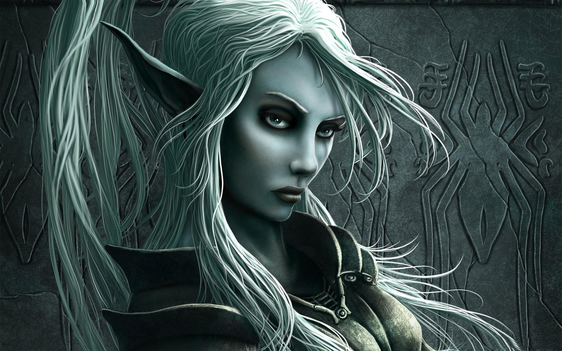 Elf woman wallpapers   Elf woman stock photos