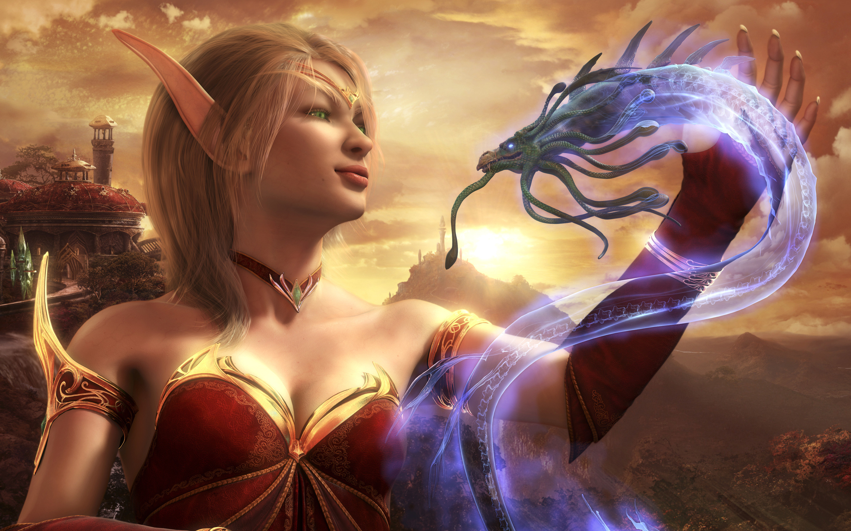 Blood Elf World Of Warcraft Wallpapers HD Wallpapers