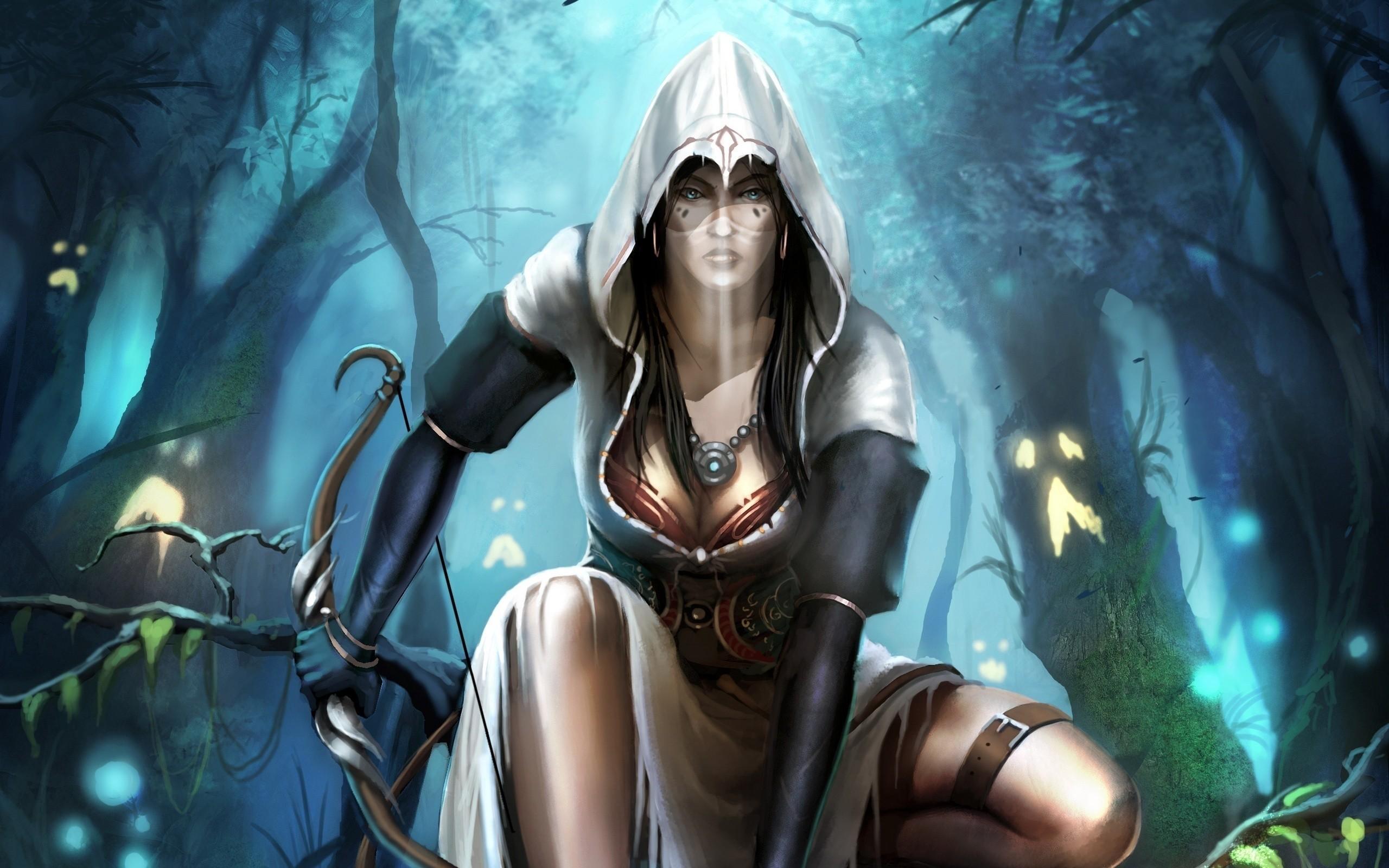 Video Game – Trine Wallpaper · Female ElfAssassins …