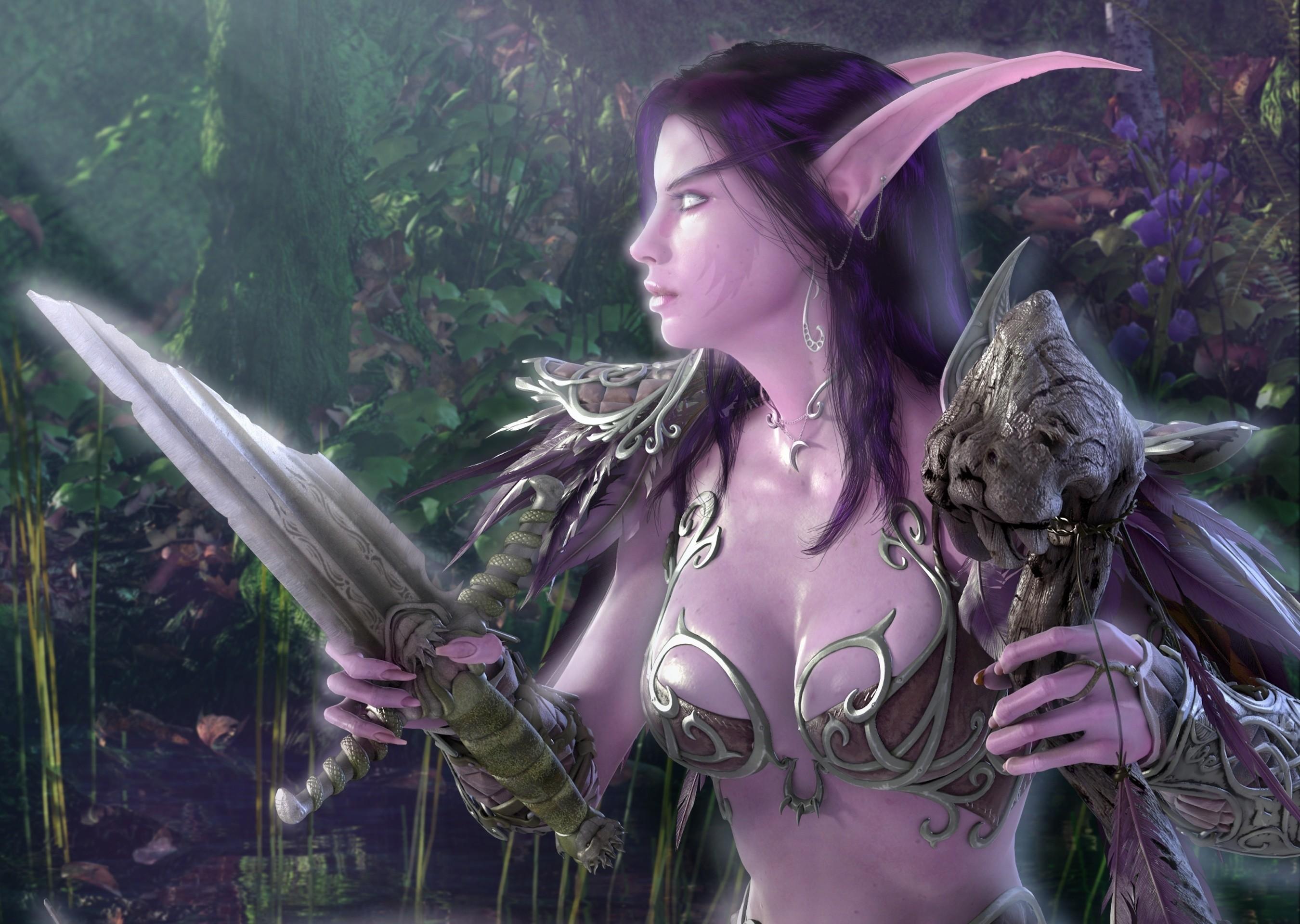 fonstola.ru_71935.jpg (2700×1920)   FFA – Fantasy Female Art   Pinterest    Female art