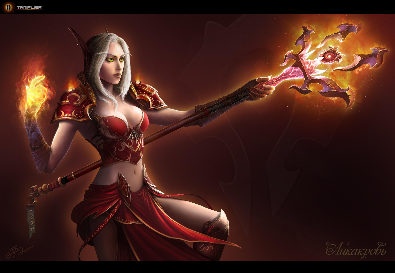 Blood Elf – Mage by TamplierPainter on DeviantArt