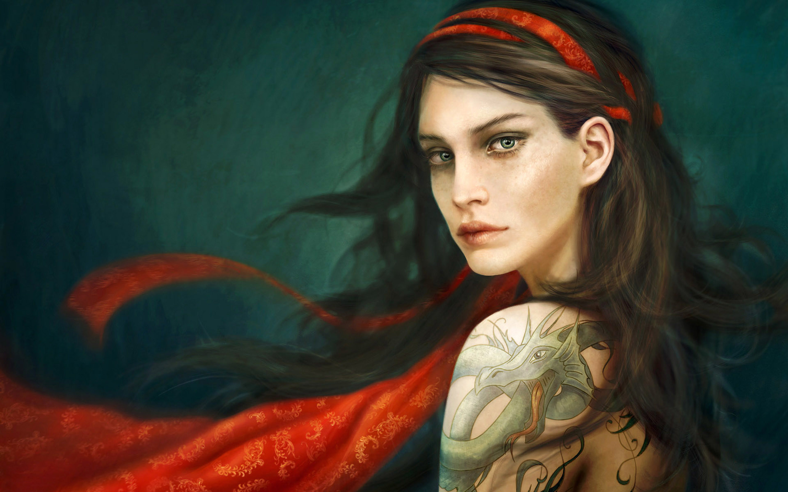 2 Fantasy Woman Wallpaper. 2 Fantasy Woman