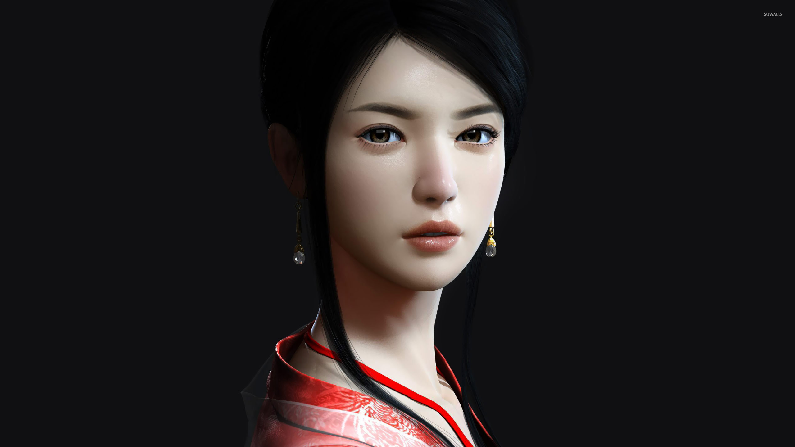 Asian woman wallpaper jpg