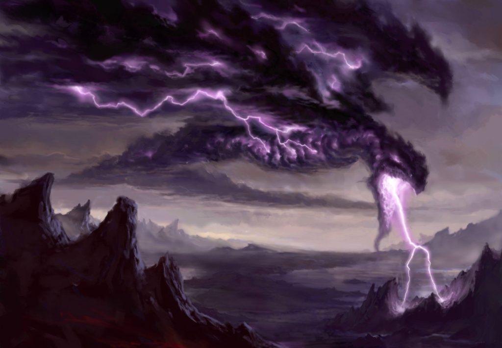 Lightning Dragon Wallpaper for Free