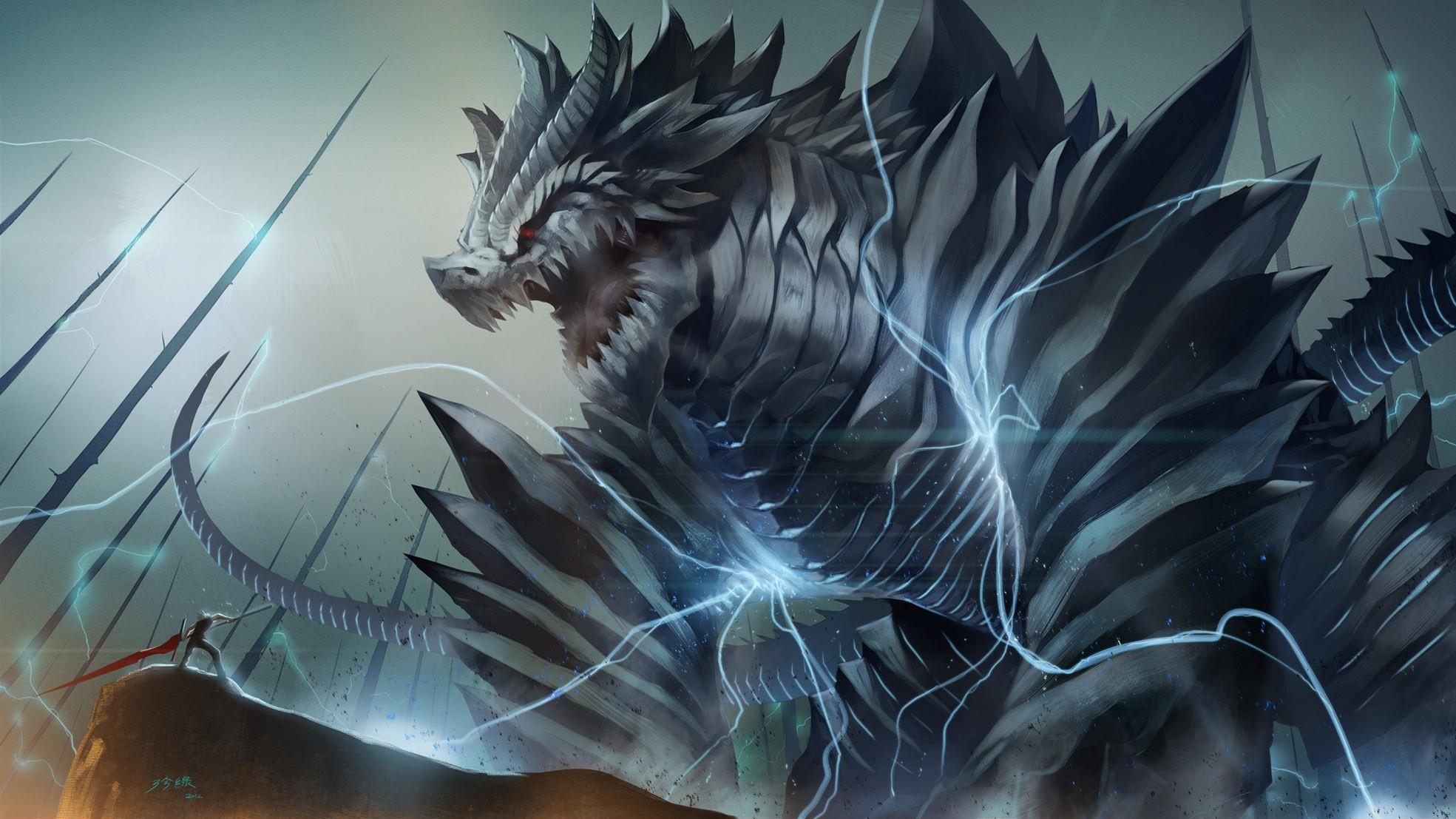 wallpaper dragons
