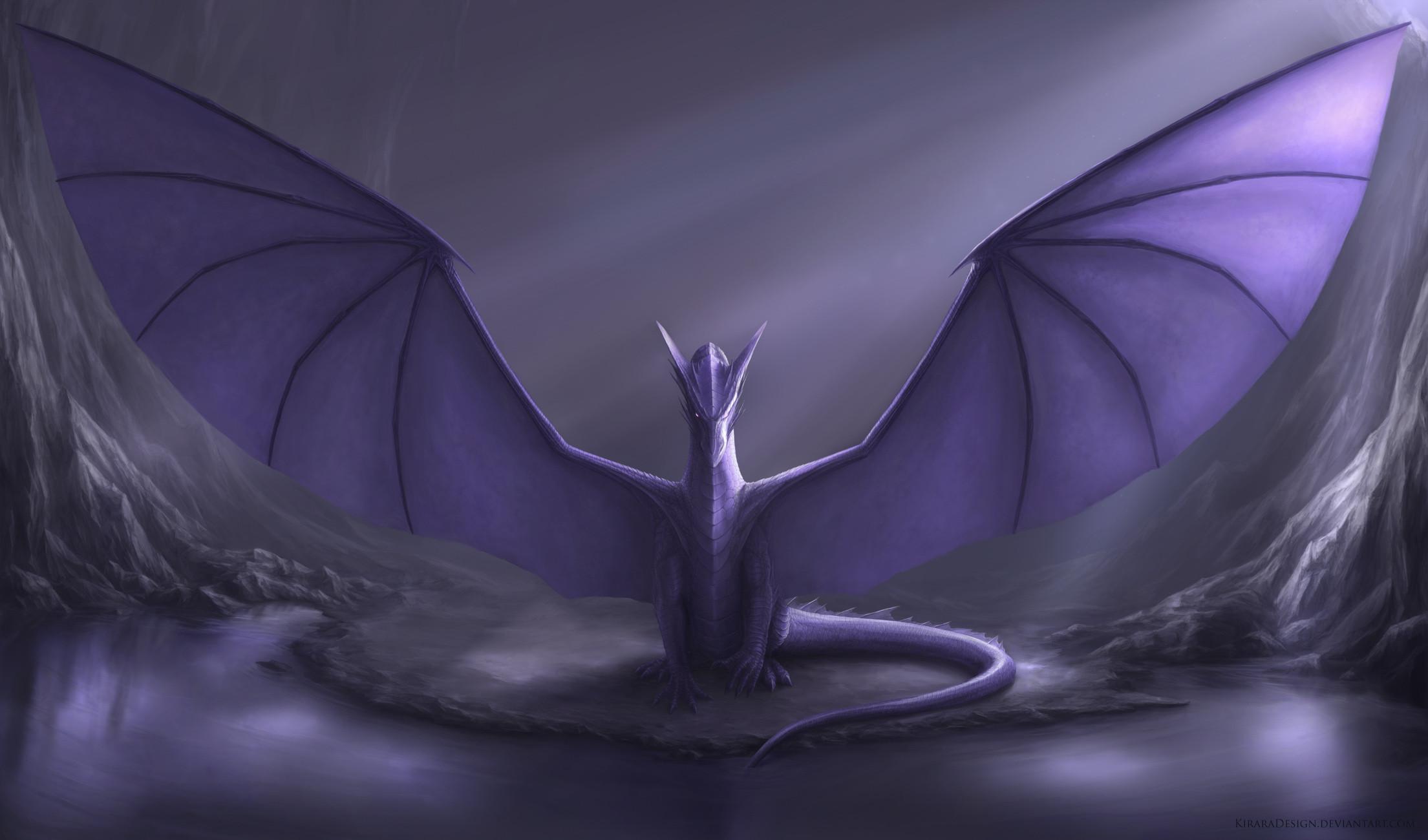 Wallpapers For > Purple Dragon Wallpaper 1920×1080
