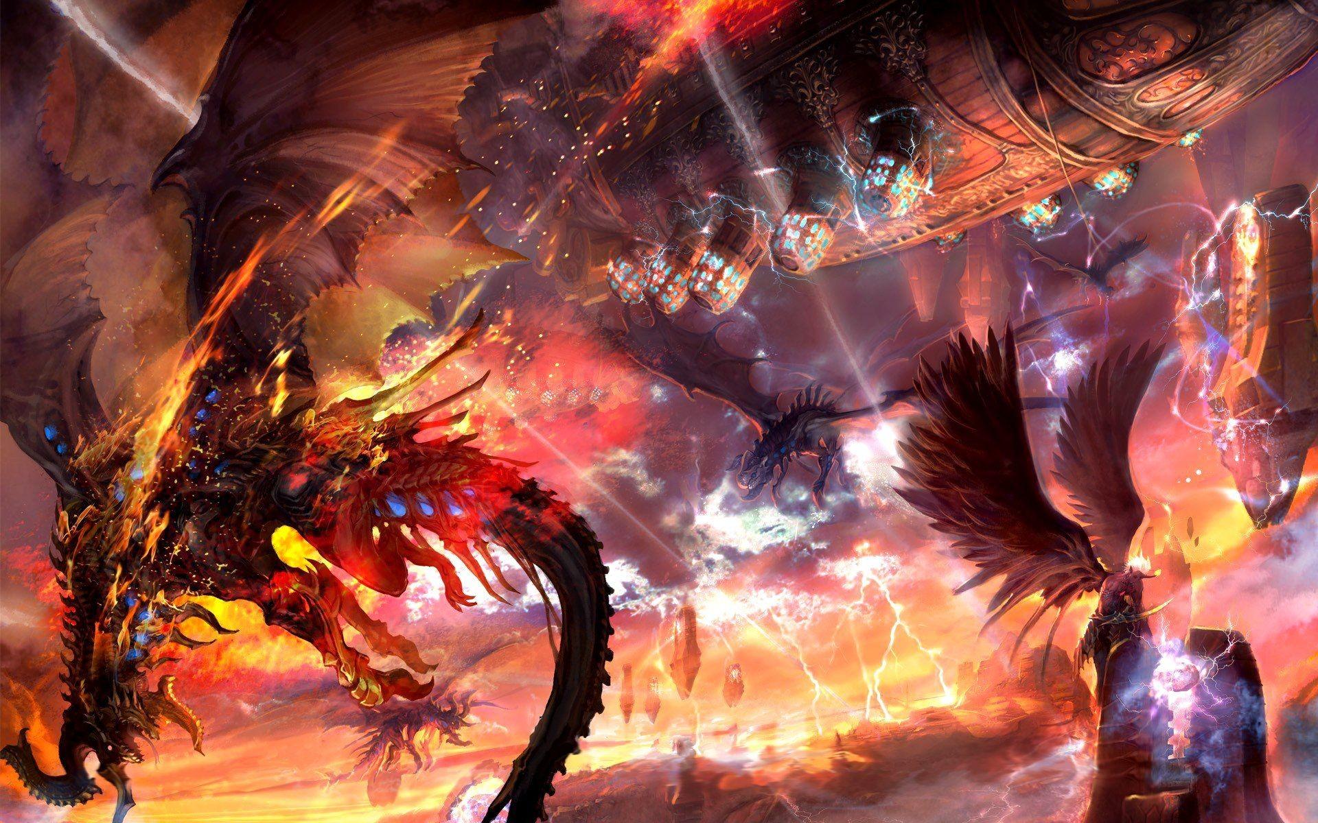 Lightning Dragon Wallpapers (30+)
