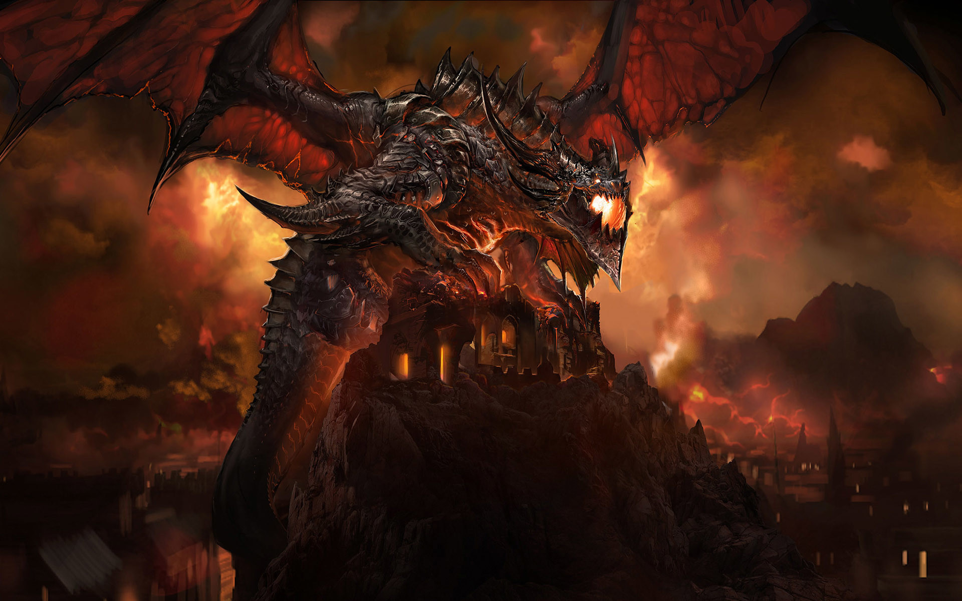 25 Best Epic Dragon Art Picture Gallery