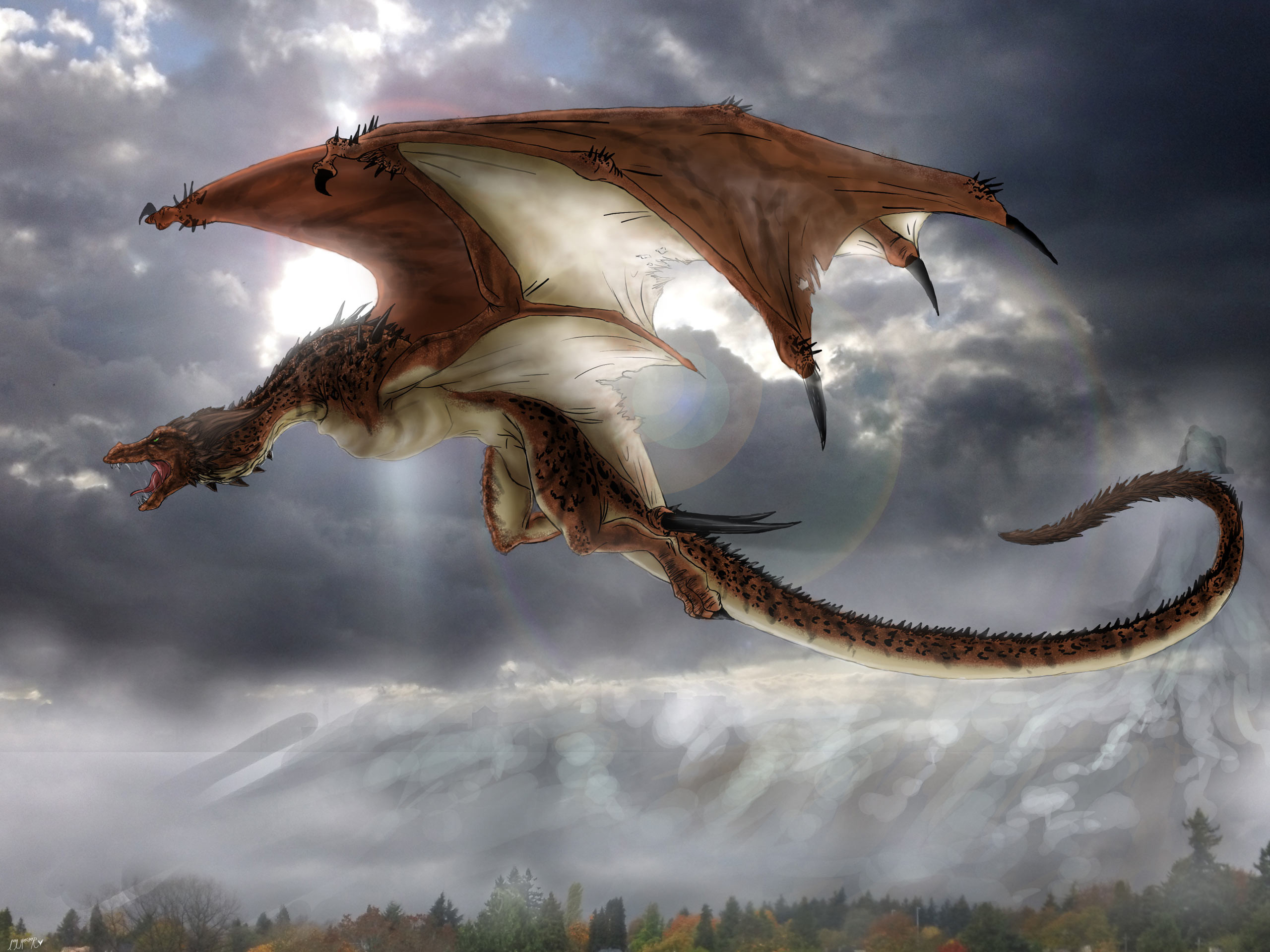 Image detail for -Mythical creatures Dragon
