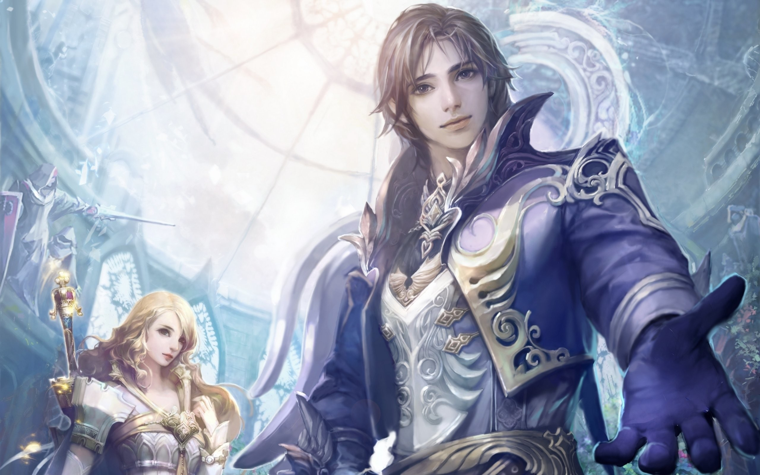 wallpaper-monitor-game-elf-girl-eternity-aion-beach-tower-wallpapers-static.jpg  (2560×1600)   aion   Pinterest   Girl wallpaper, Wallpaper art and Wallpaper