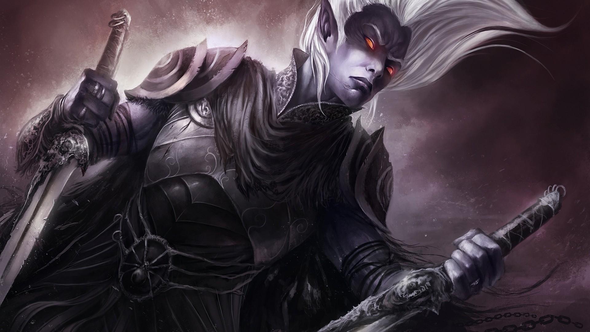 Dark Elf Wallpaper