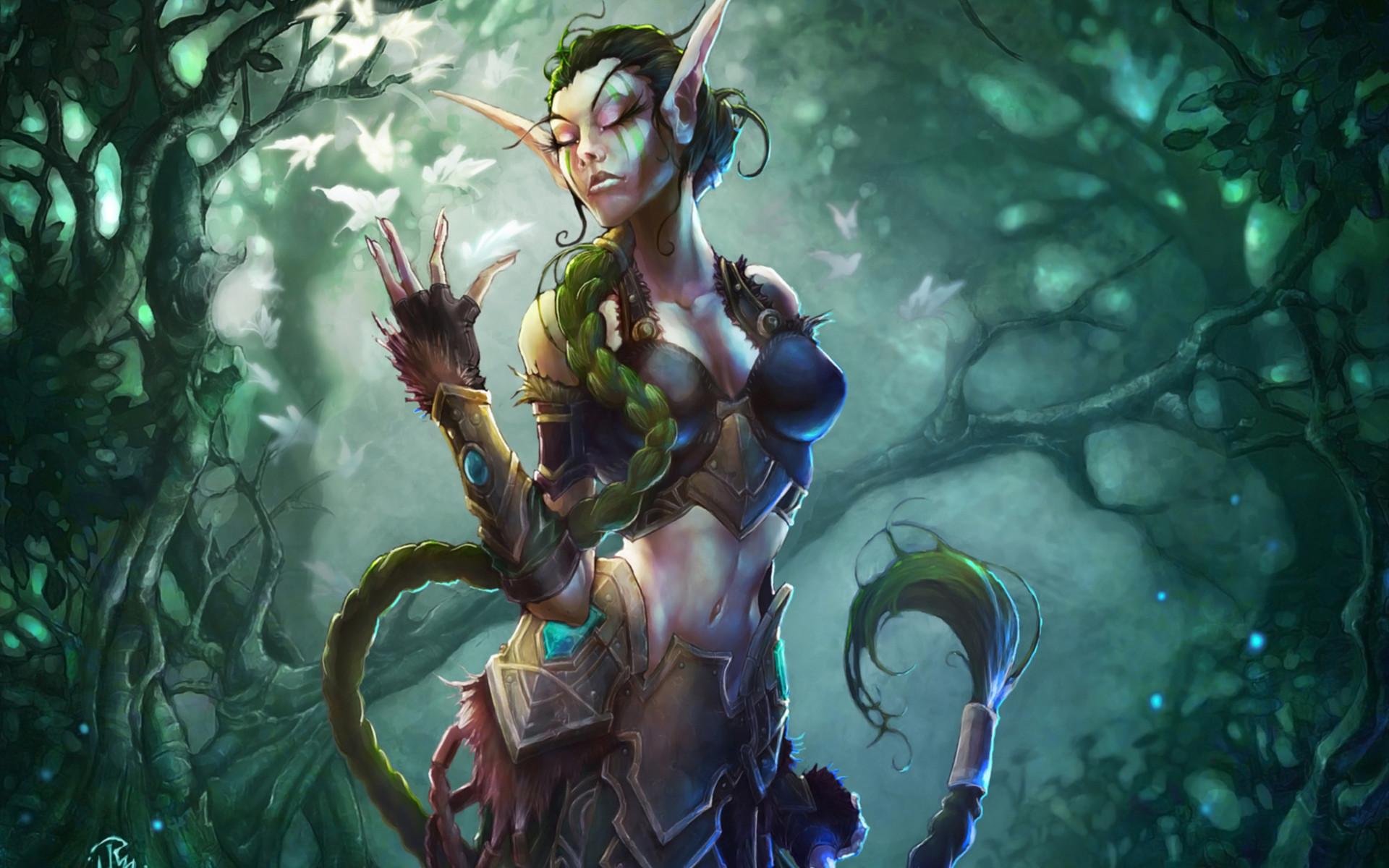 Image result for fantasy forest elves   Elves: The Dendiera   Pinterest    Forest elf, Fantasy forest and RPG