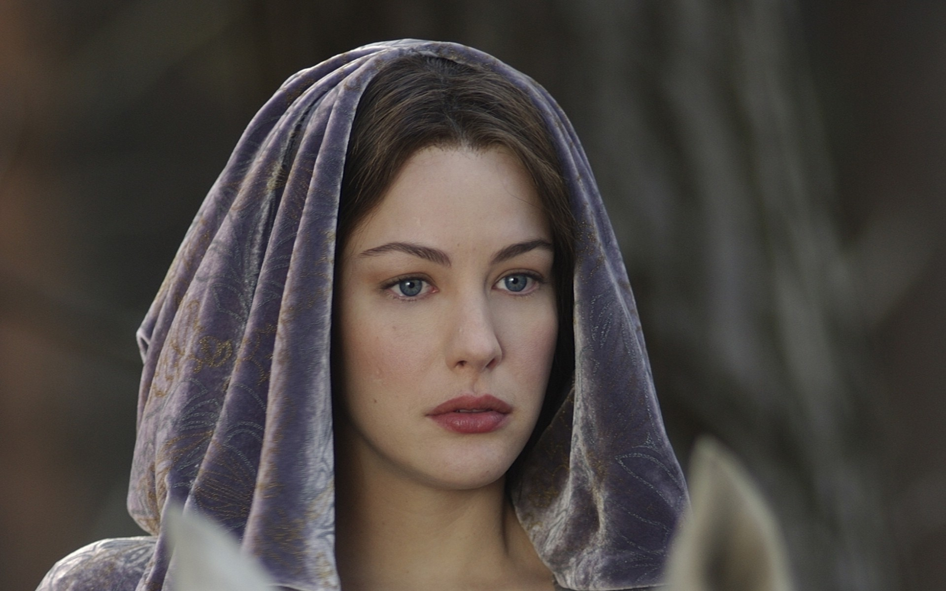 Liv Tyler, Arwen, The Lord Of The Rings, Elves, Women, Blue Eyes Wallpapers  HD / Desktop and Mobile Backgrounds