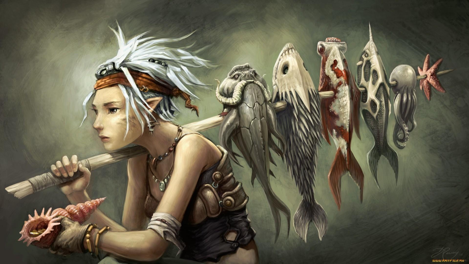 Fantasy – Women Wallpaper