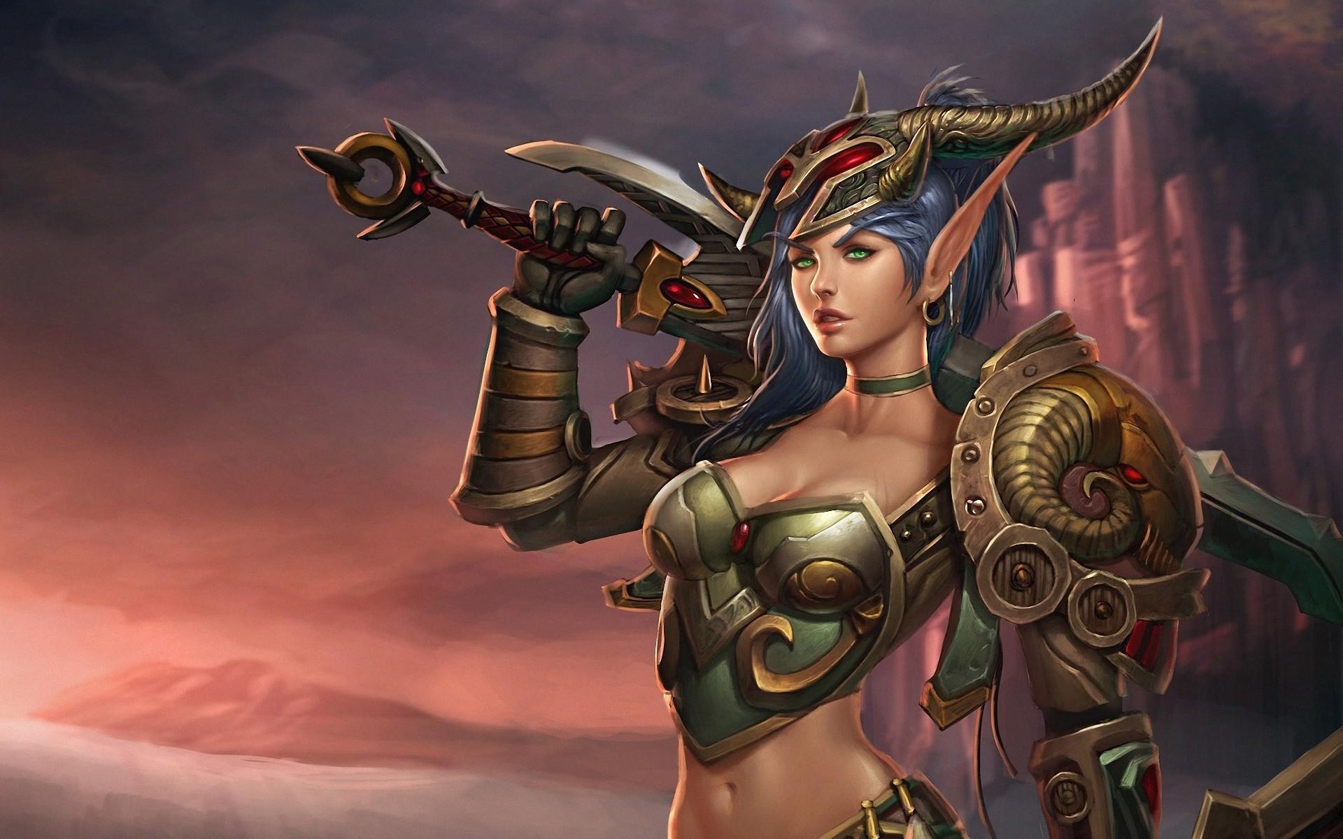 World of Warcraft HD Wallpaper
