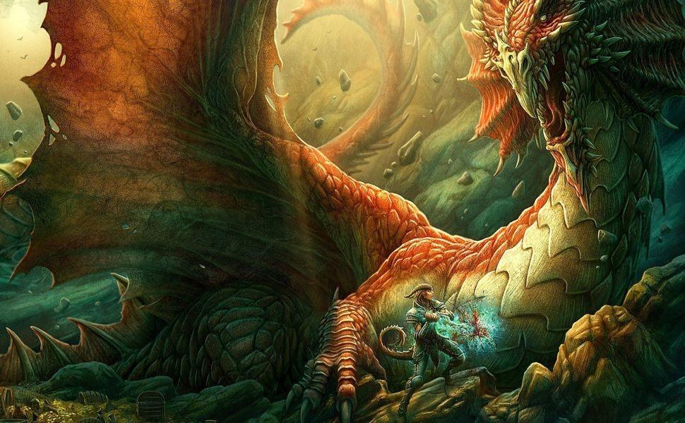 Kerem Beyit 1920×1080 HD Wallpaper Dragons And Wizards Wallpaper