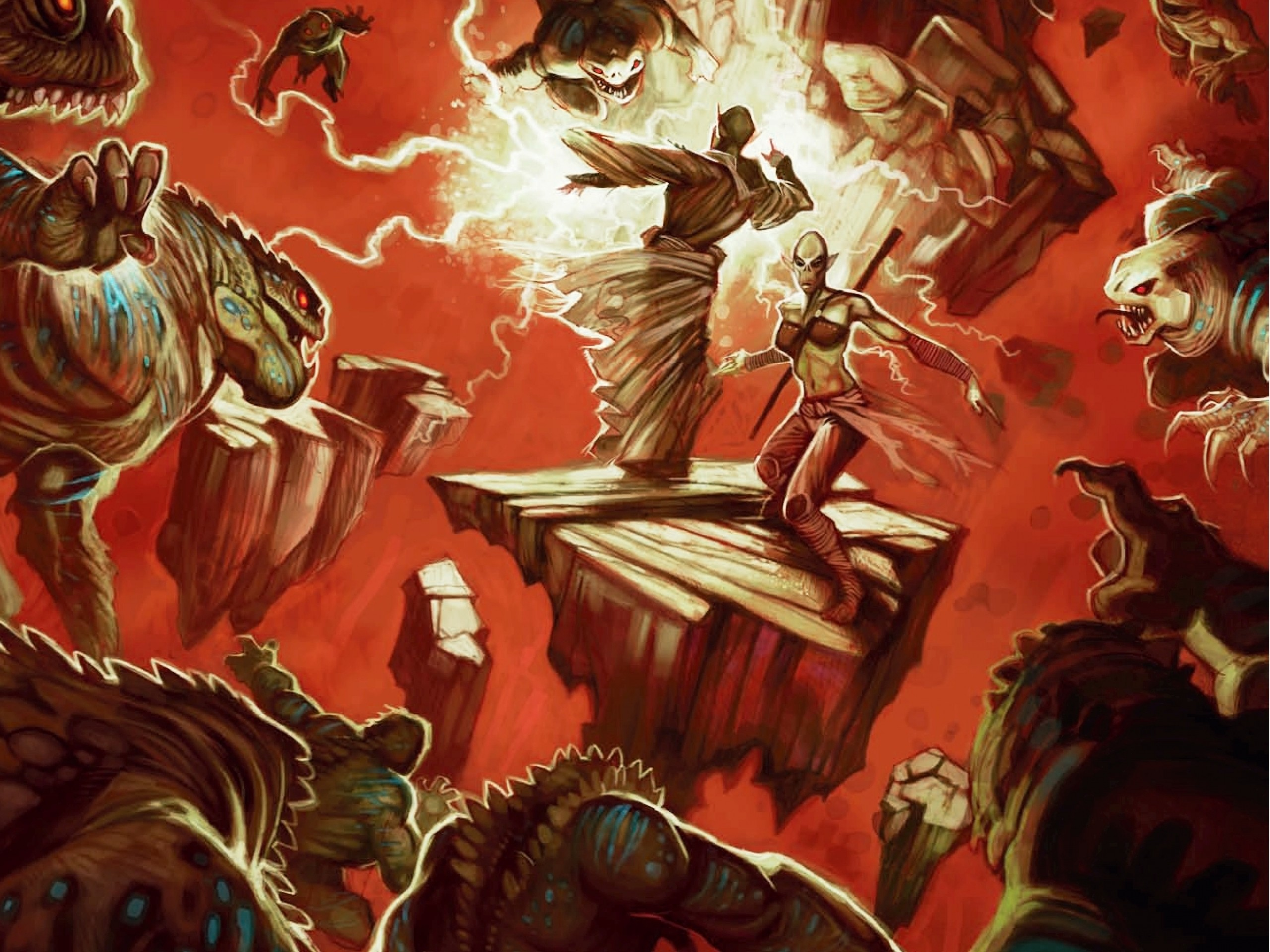 wizards dungeons and dragons monk 1315×986 wallpaper Art HD Wallpaper