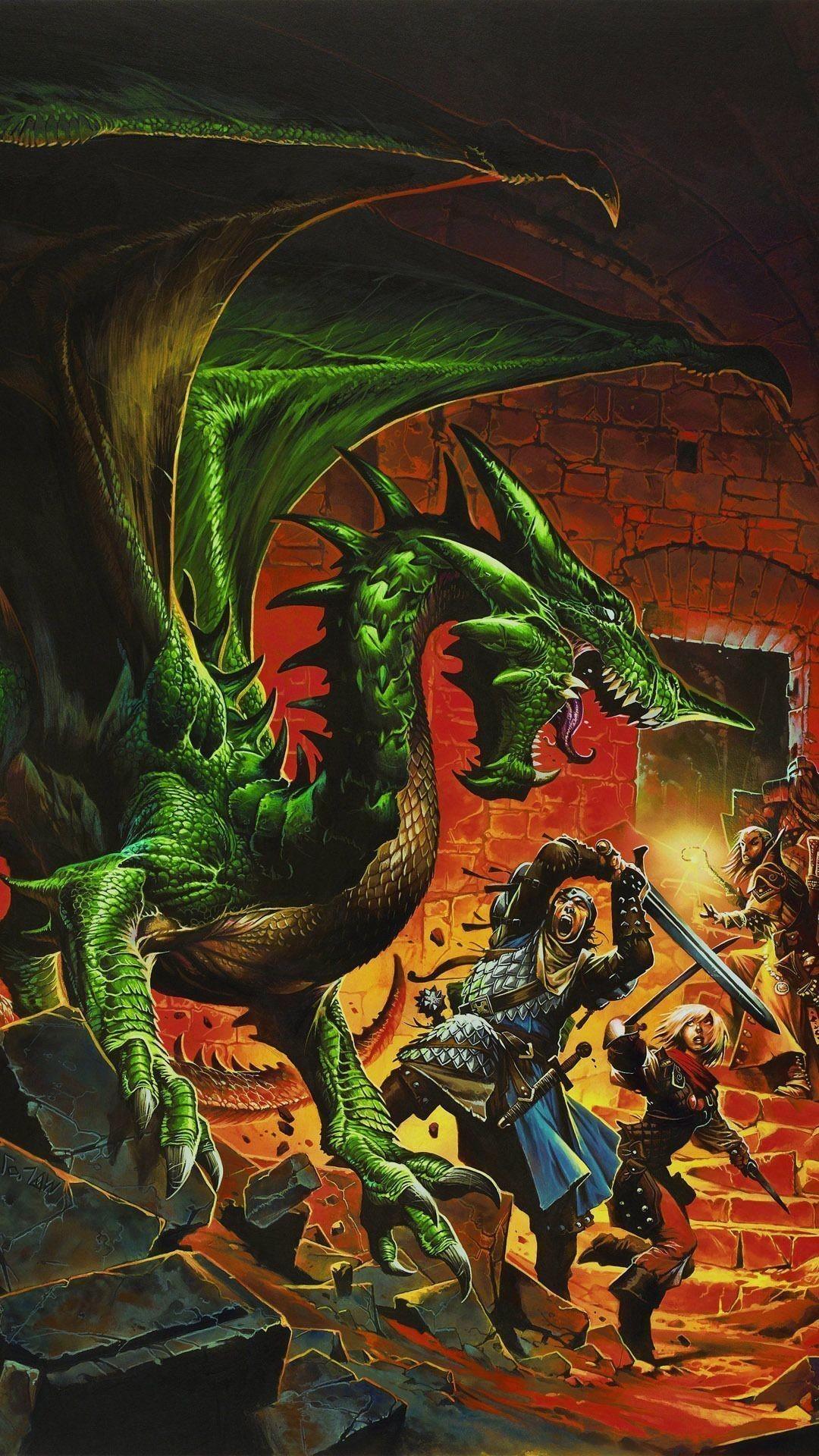 Dungeons & Dragons Mobile Wallpaper 9247