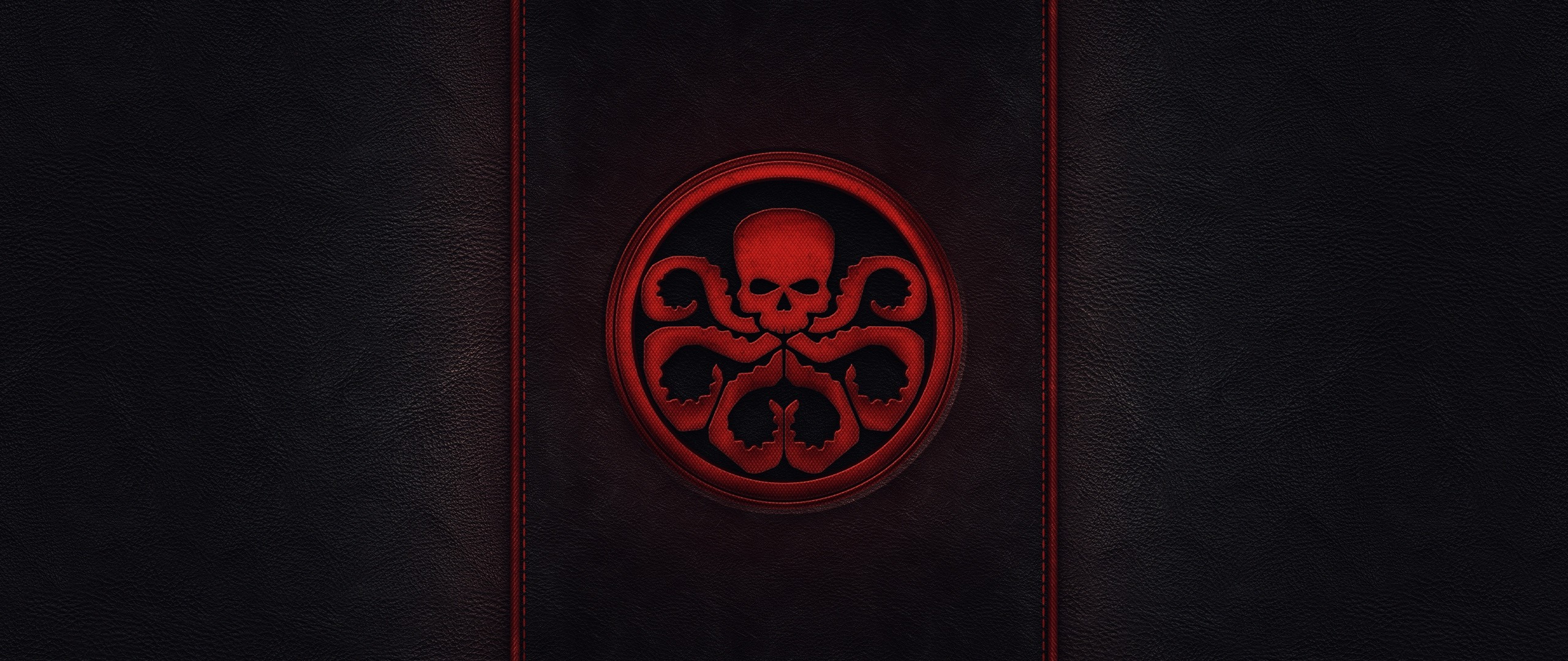 Wallpaper skull, captain america, style, minimalism, tentacles,  sign, hydra