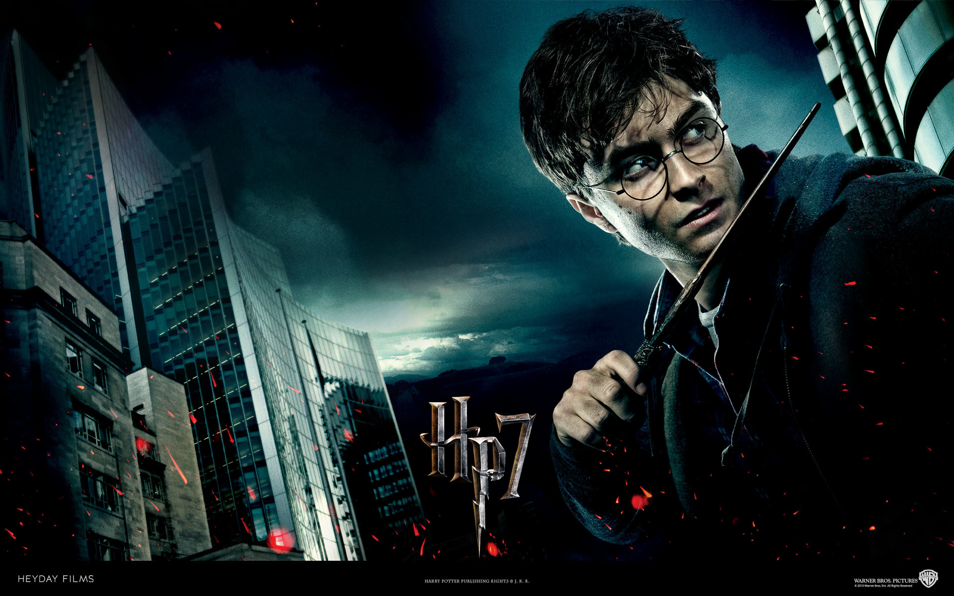 Harry Potter from Harry Potter and the Deathly Hallows movie wallpaper