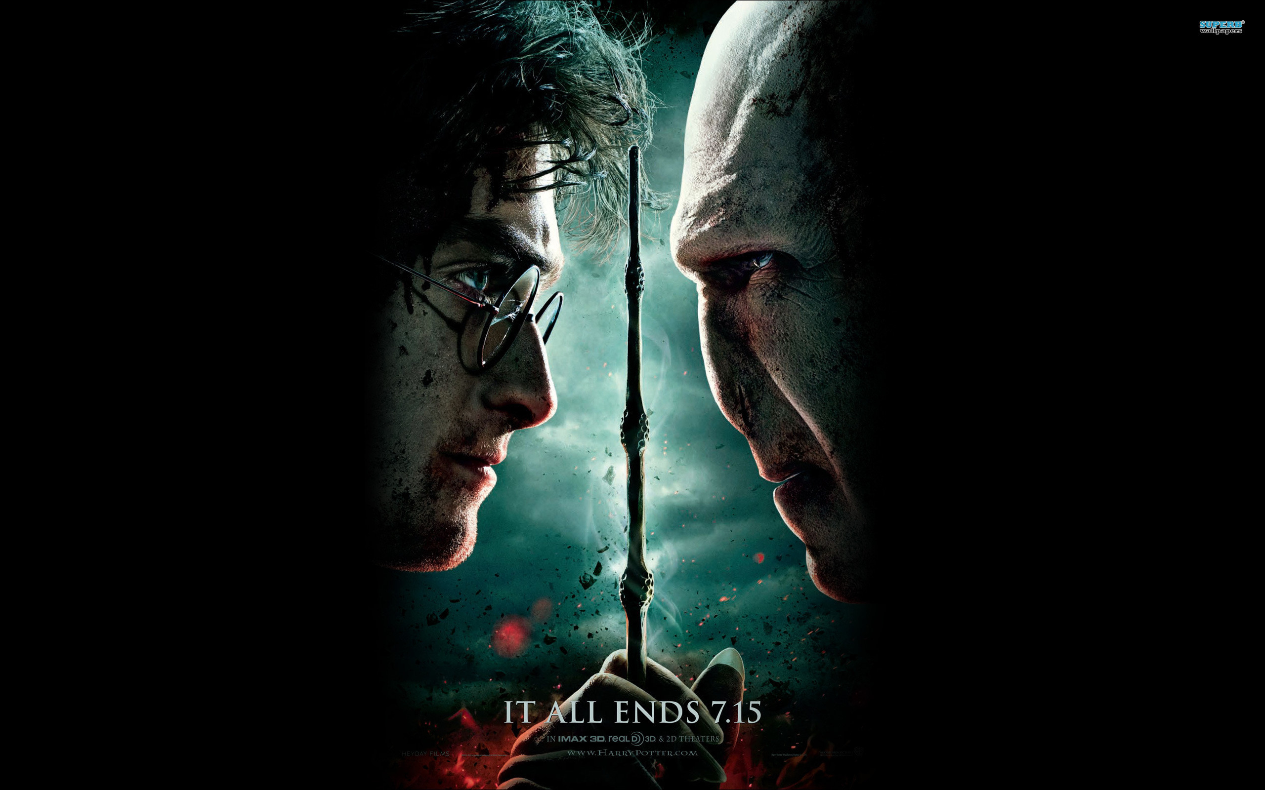 Harry Potter And The Deathly Hallows Part 2 Wallpapers – Wallpaper .