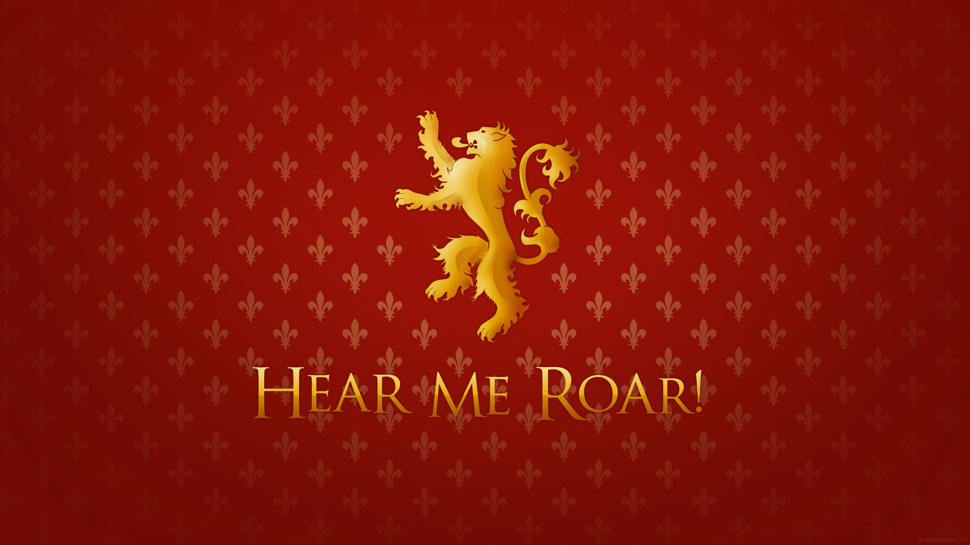 Game of Thrones A Song Of Ice And Fire lions TV series House Lannister /  Wallpaper