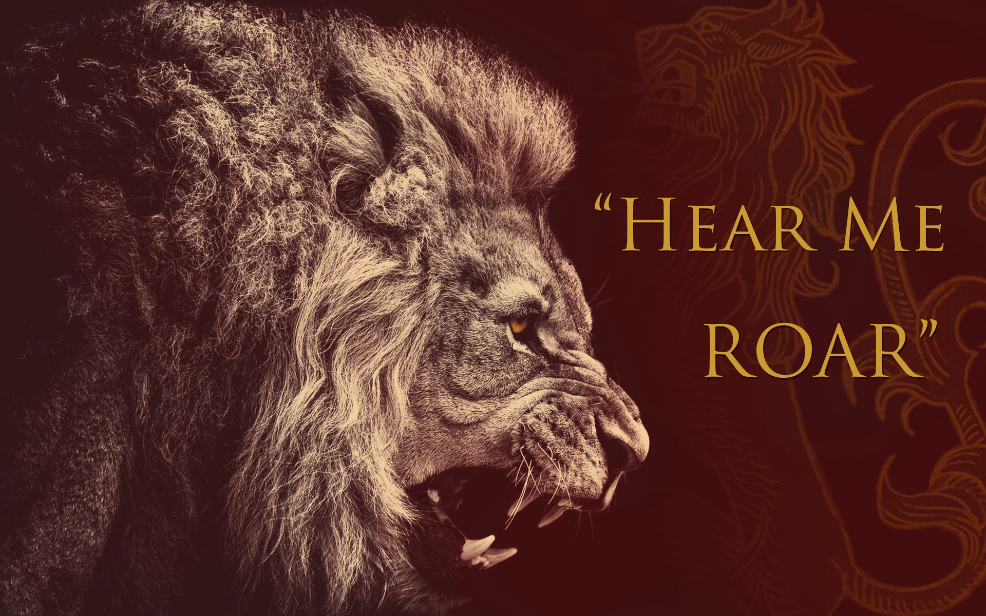 lion, House Lannister, Sigils, Game Of Thrones Wallpapers HD / Desktop and  Mobile Backgrounds