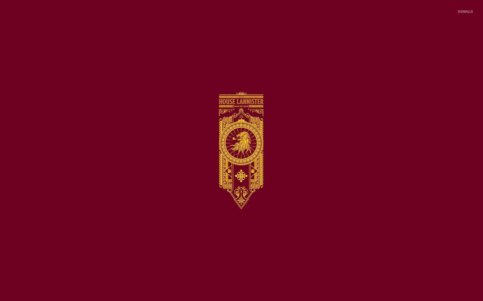 House Lannister wallpaper – Minimalistic wallpapers – #28601