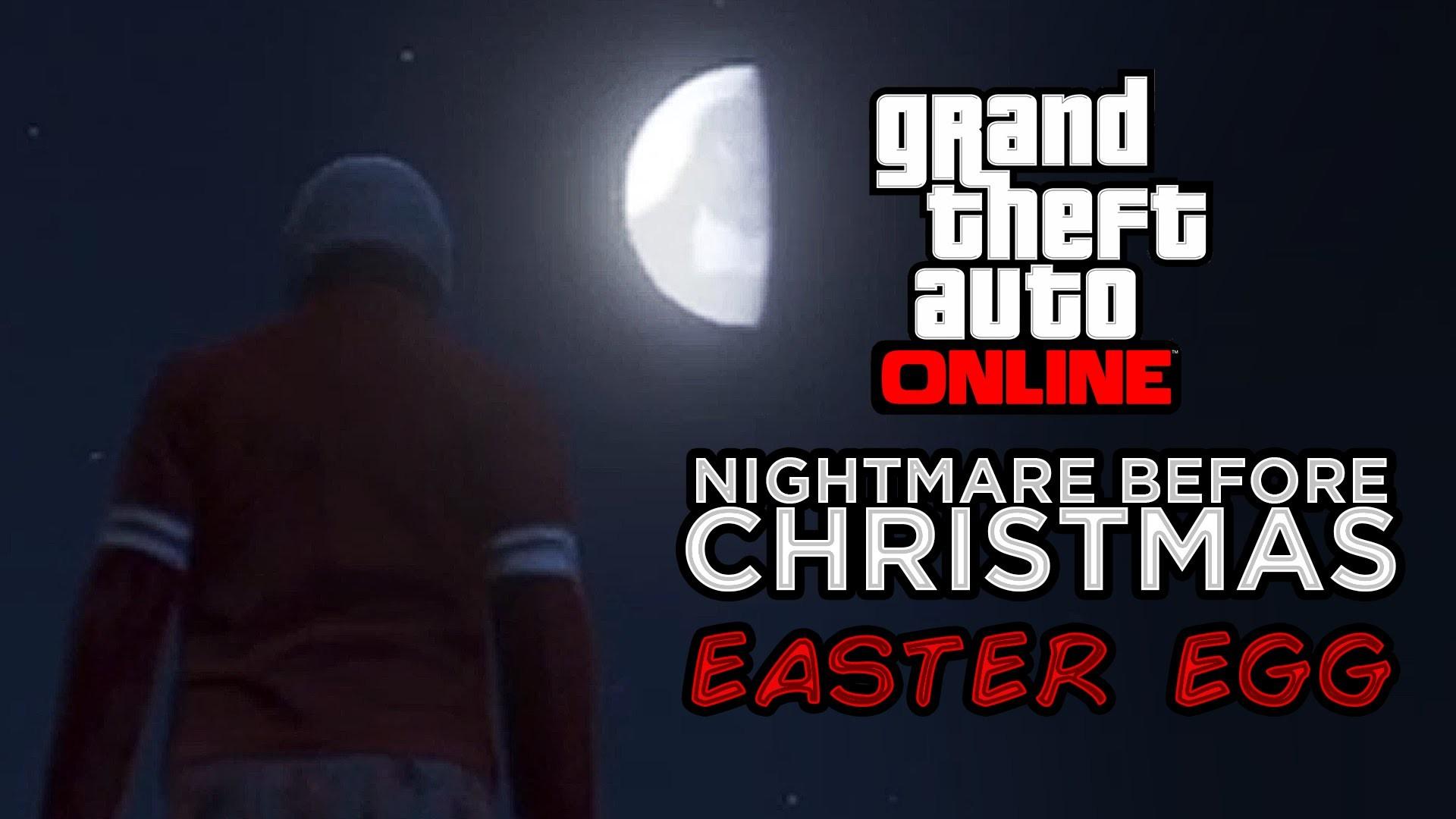 GTA 5: Online Nightmare Before Christmas Easter Egg (GTAO Oogie Boogie  Gameplay) – YouTube