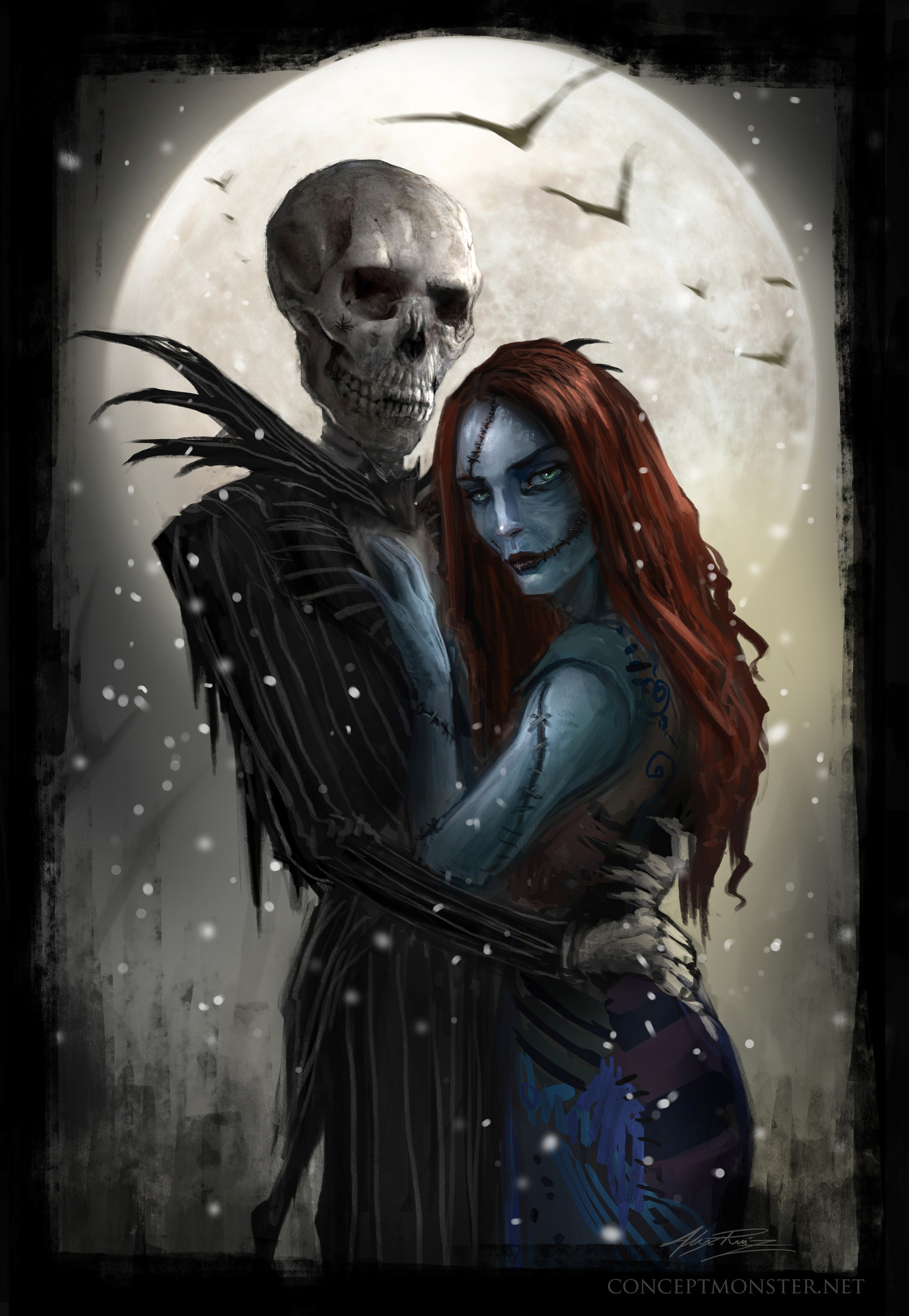 Jack-and-Sally-Meant-to-Be-nightmare-before-