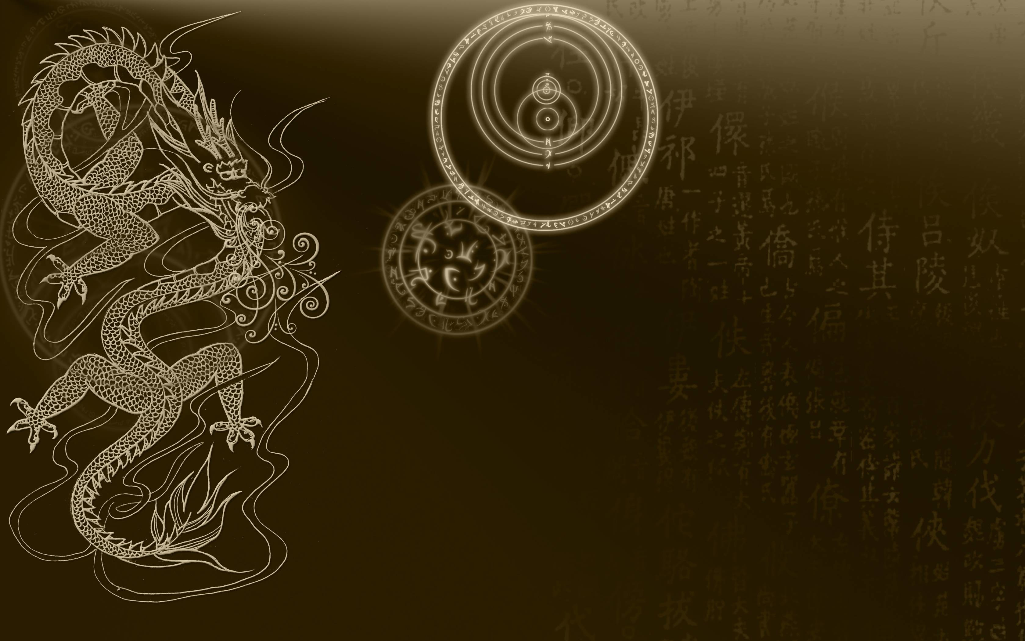 3035 Chinese Dragon Wallpapers