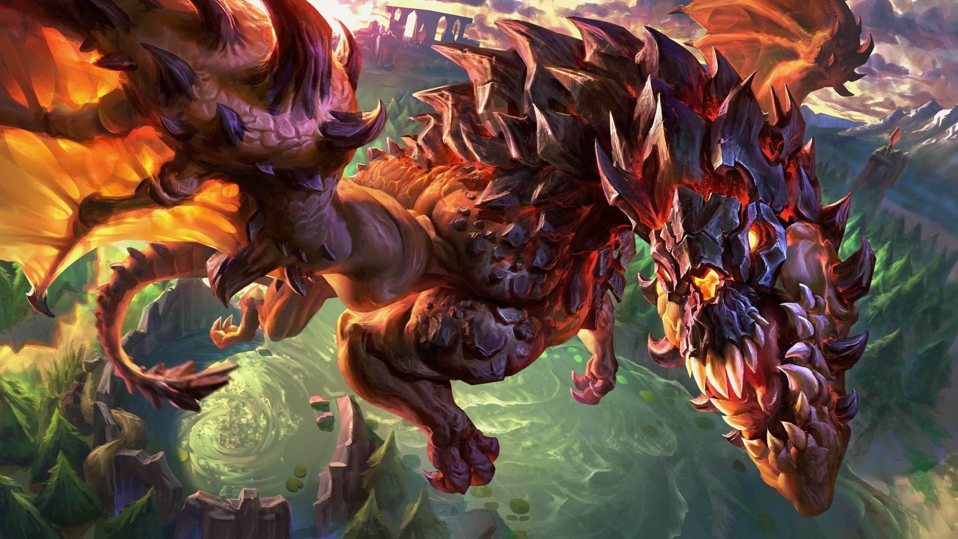 dragon screensavers backgrounds
