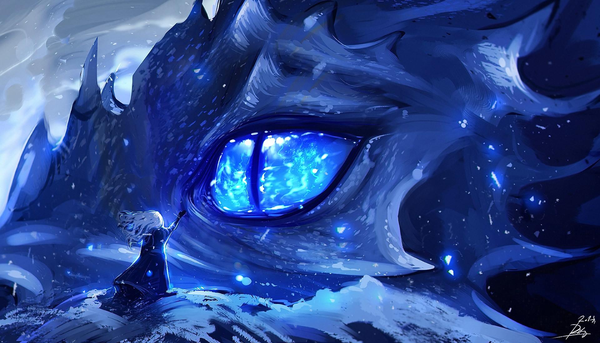 Anime Dragon Eye