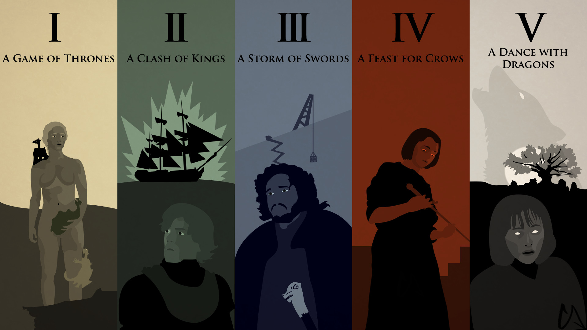 … A Song of Ice and Fire Wallpaper by Conkoon