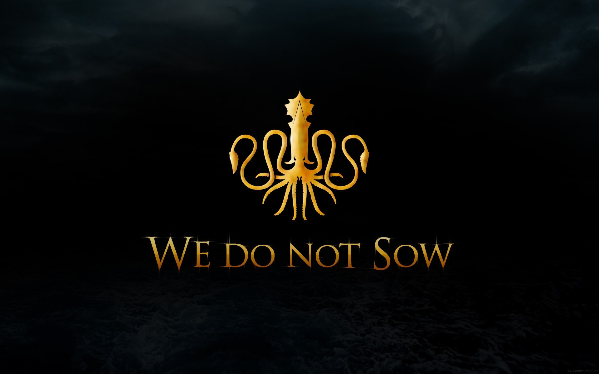 Kraken squid Game of Thrones A Song Of Ice And Fire TV series House Greyjoy  / Wallpaper