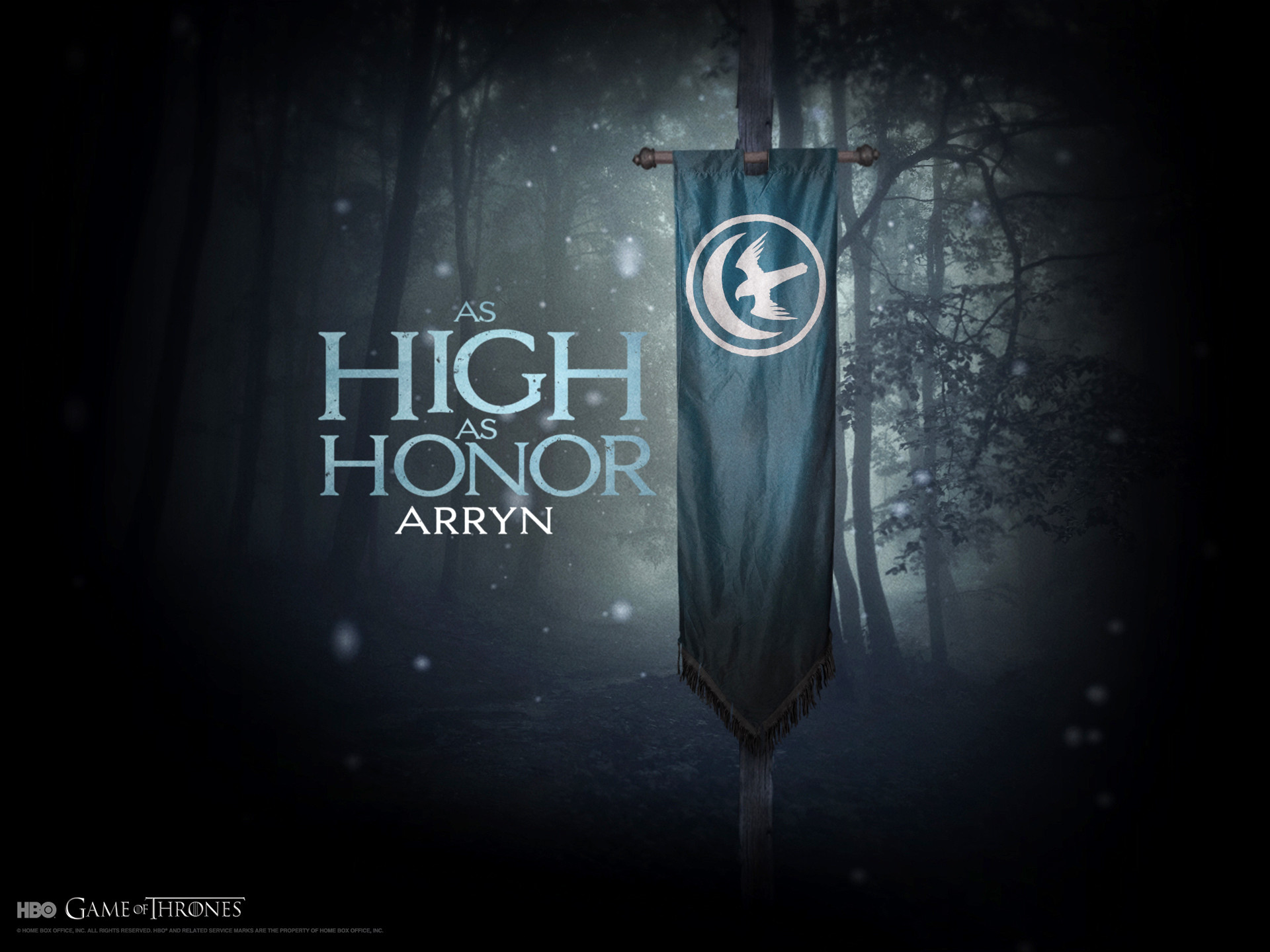 A Song of Ice and Fire Game of Thrones House Arryn TV series banner  wallpaper ( / Wallbase.