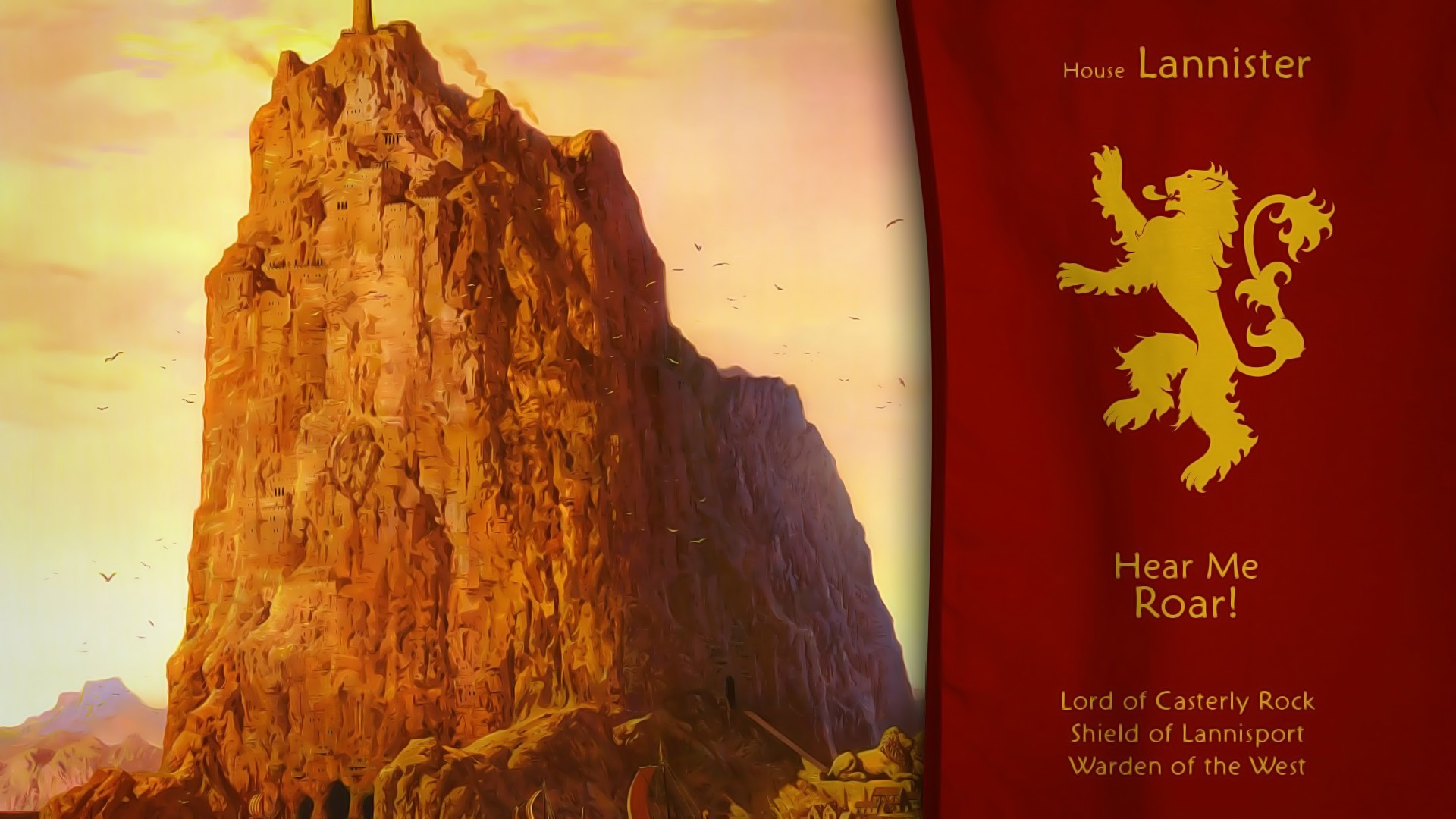 Game Of Thrones, House Lannister, Sigils
