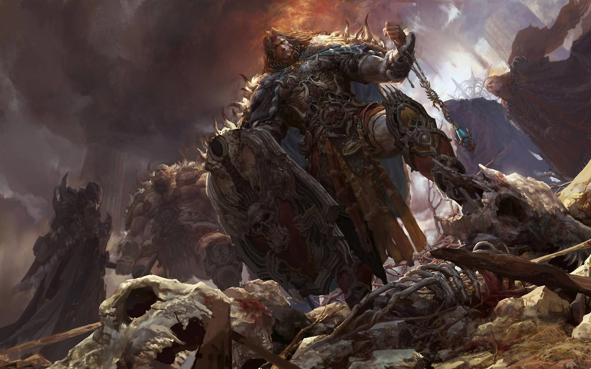 Fantasy Warrior Wallpapers – Full HD wallpaper search – page 4