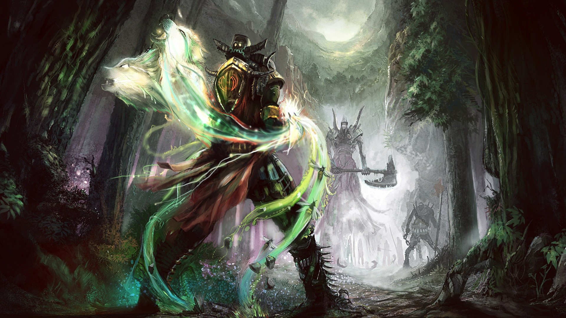 fantasy warrior Wallpaper Backgrounds