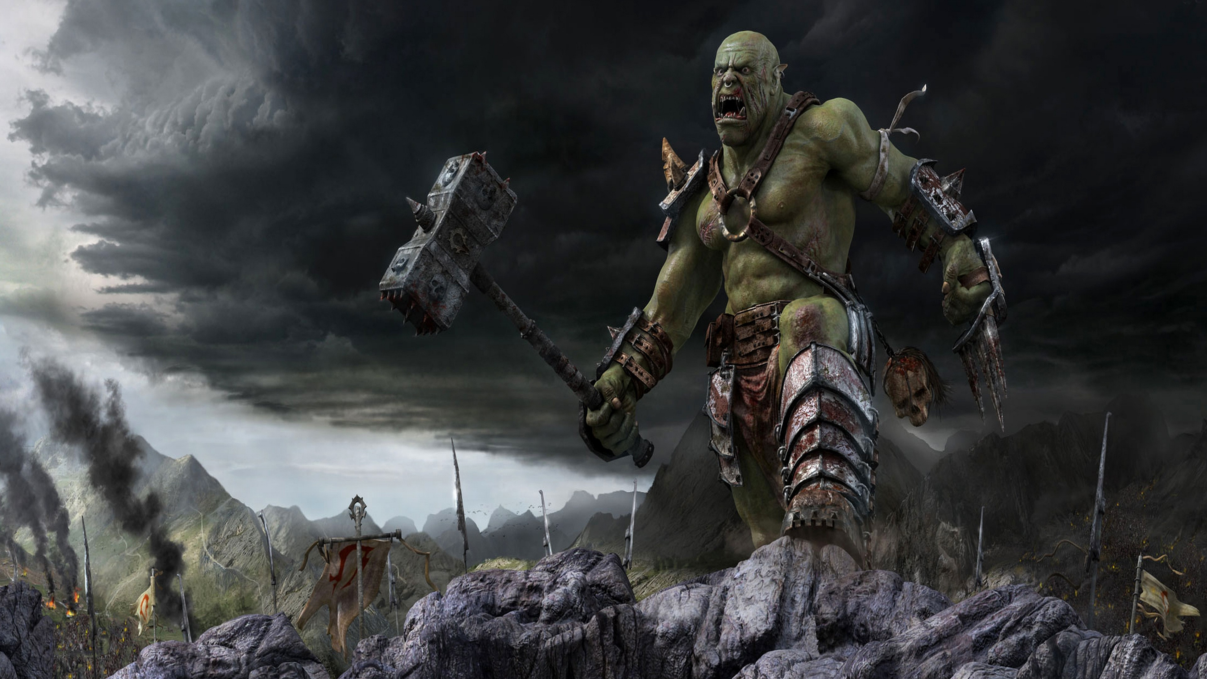 HD Wallpaper   Background ID:159708. Fantasy Warrior. 6 Like.  Favorite