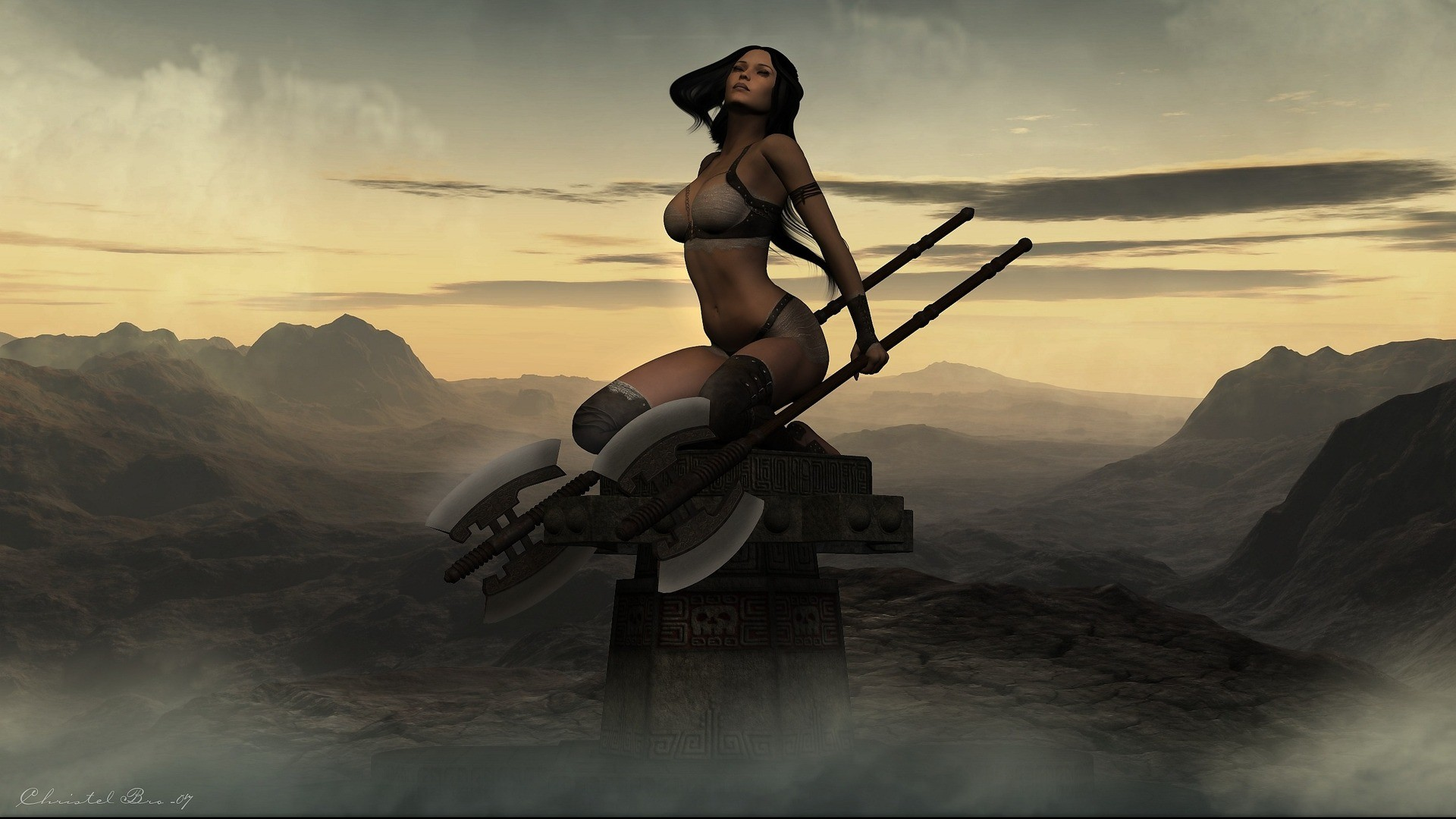 1136 Women Warrior HD Wallpapers   Backgrounds – Wallpaper Abyss – Page 10