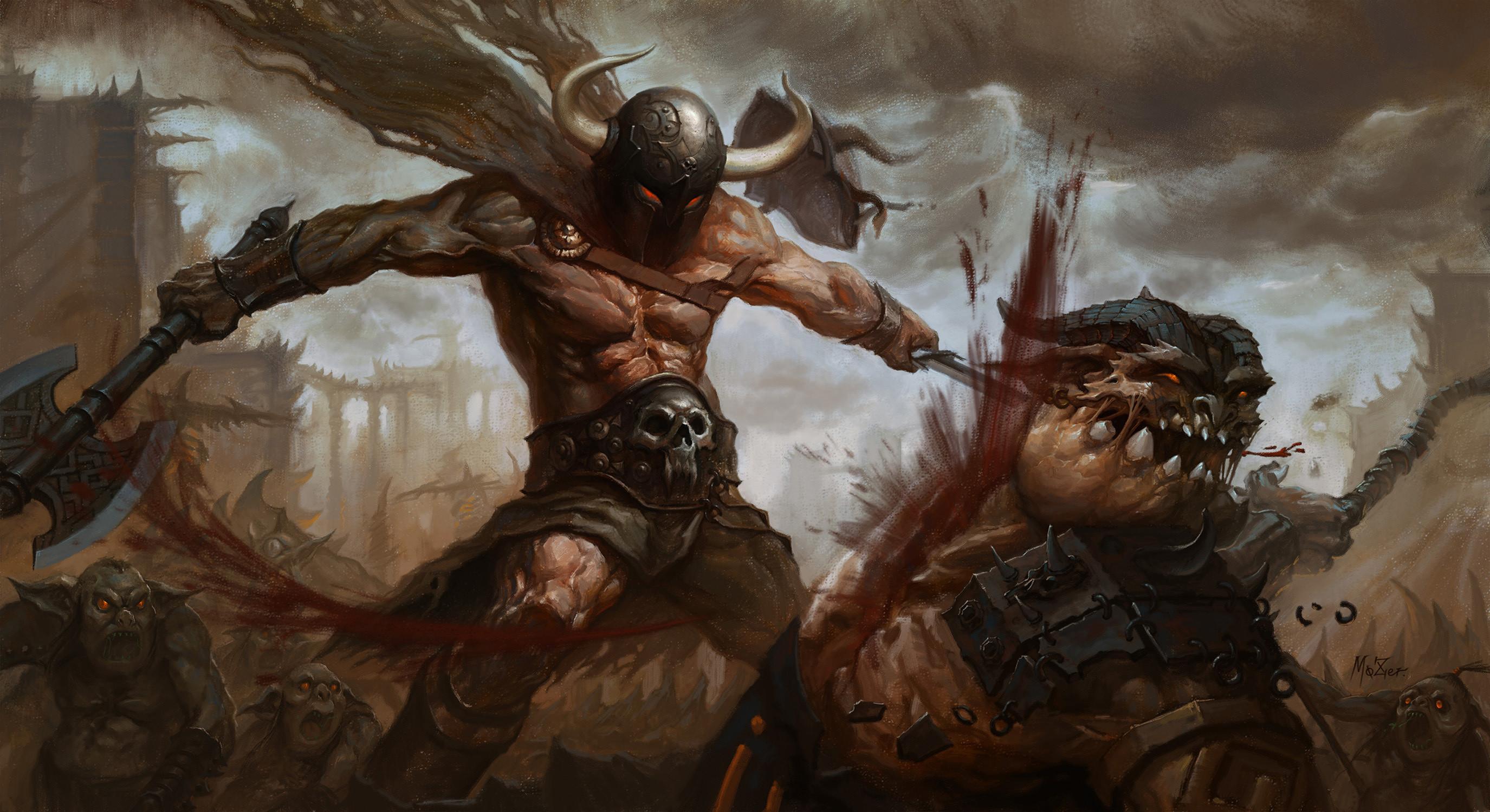 vikings wallpaper blood   Text: Viking Battle for Asgard video fantasy  warrior battle weapons .