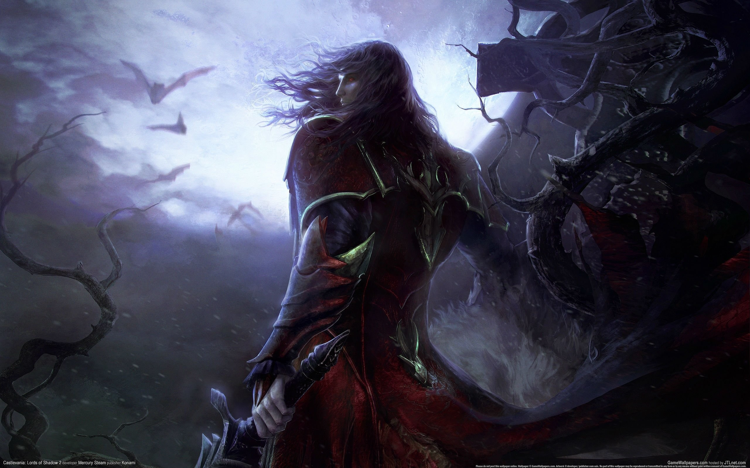 Castlevania Fantasy Dark Vampire Dracula Adventure Action Platform Warrior  Wallpaper At Dark Wallpapers