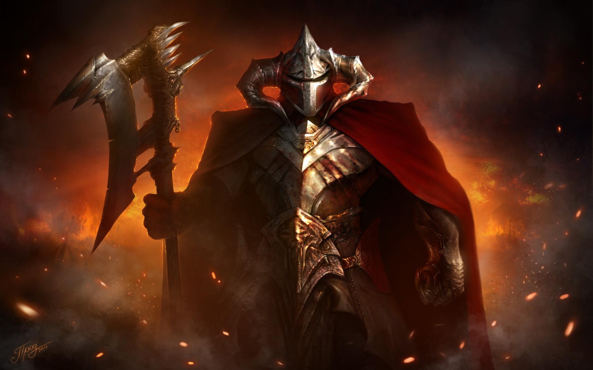 Fantasy – Warrior Wallpaper · 378444